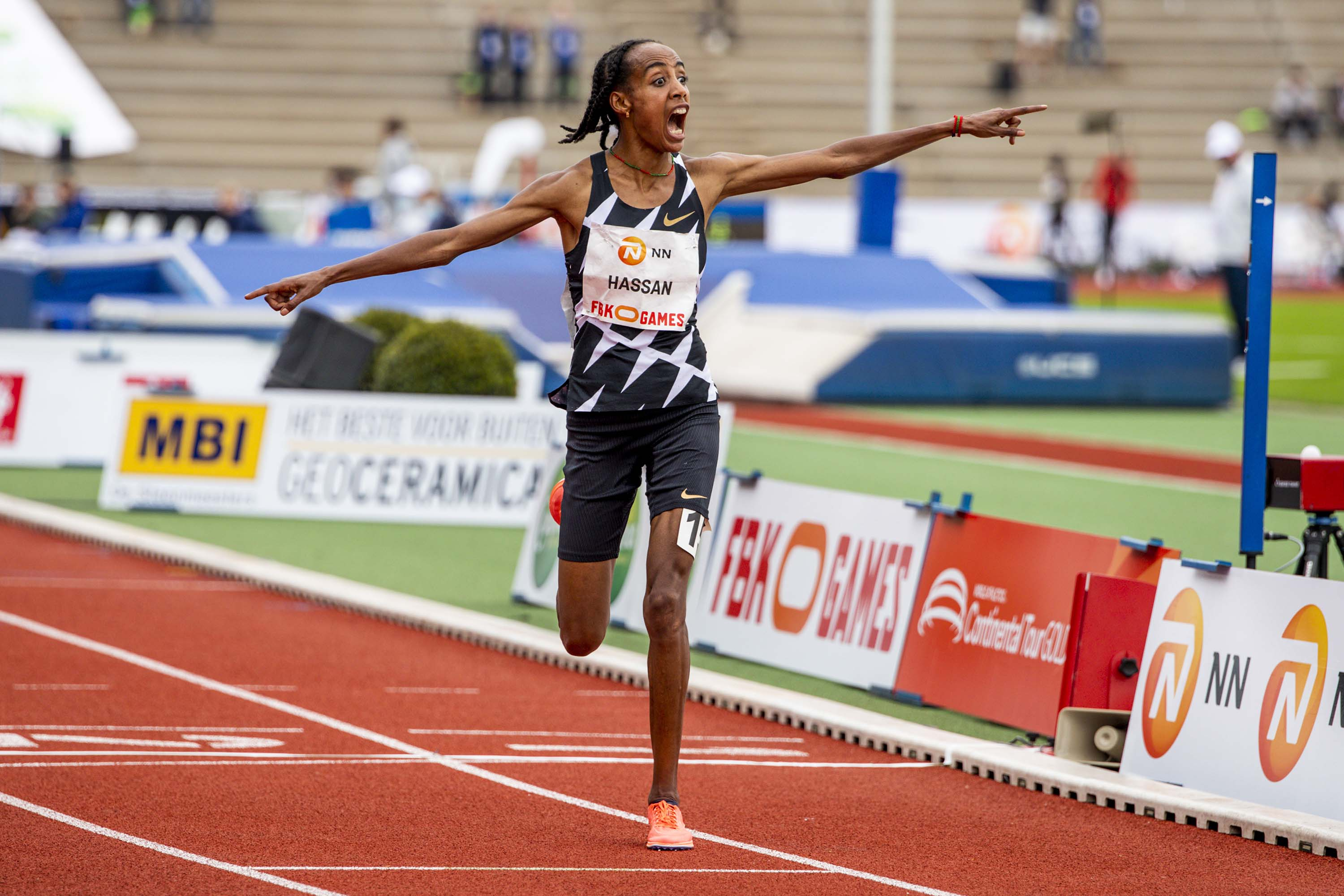 Letesenbet Gidey breaks Sifan Hassan's two-day-old 10,000m world record