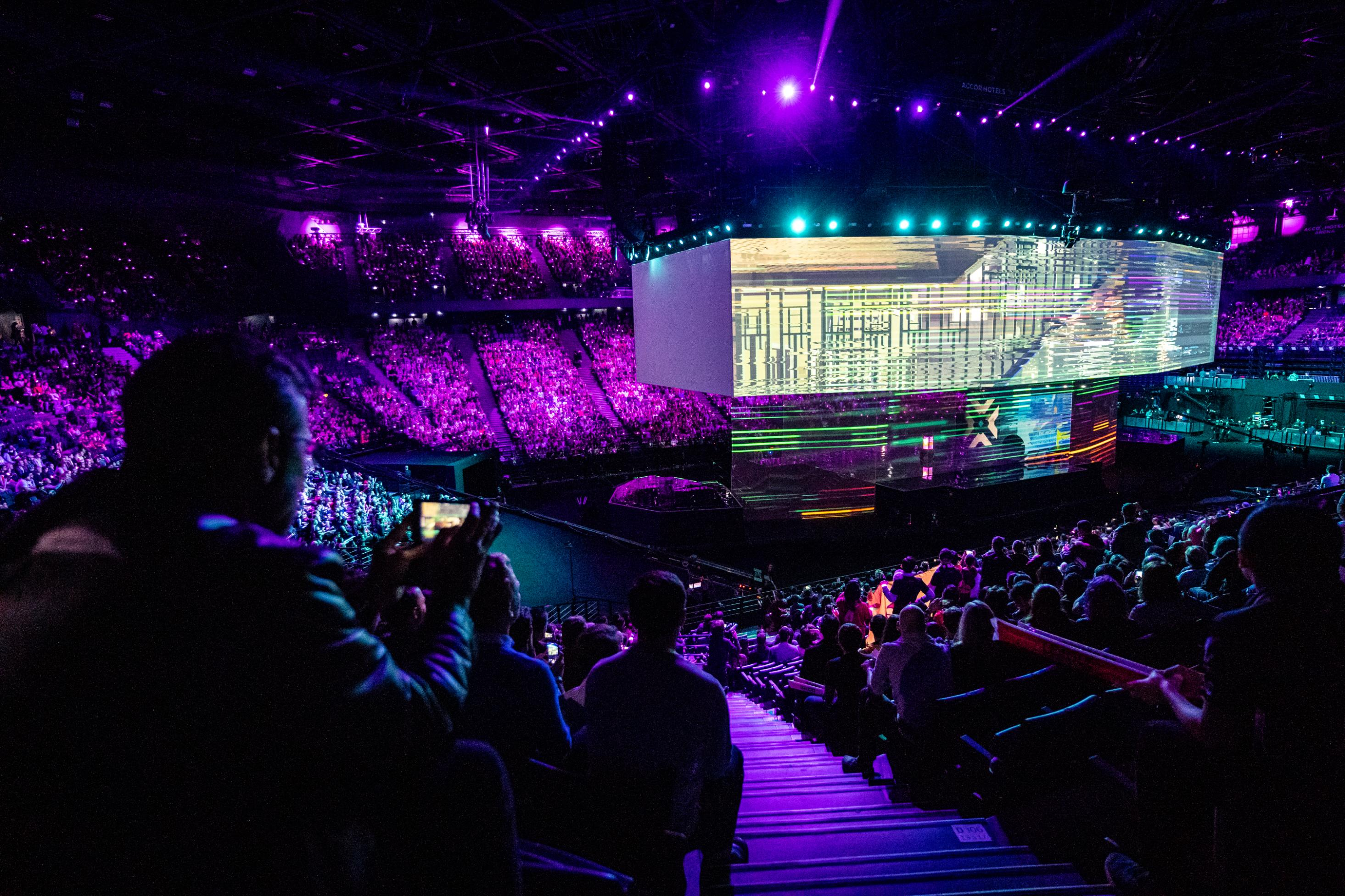 League of Legends is growing. Traditional sports better watch out.