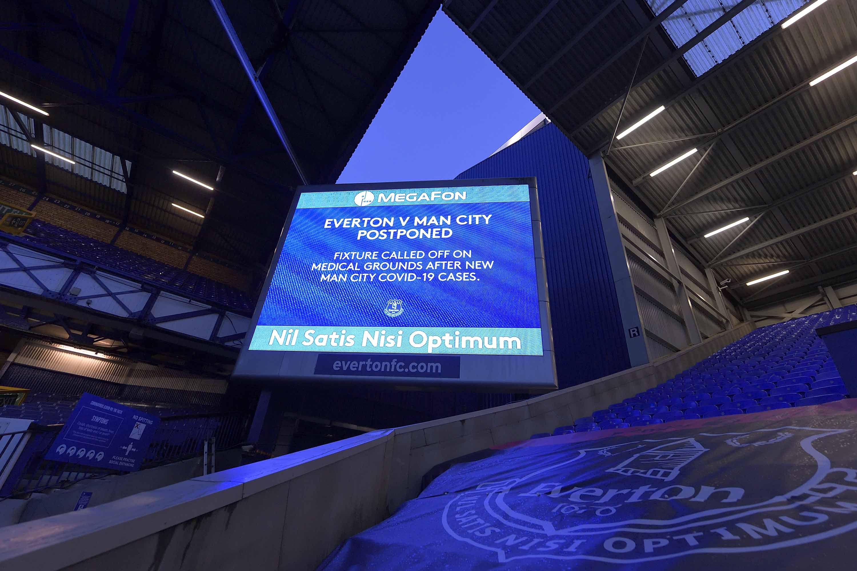 Manchester City's 'compromised' Covid-19 security bubble forces postponement of game at Everton