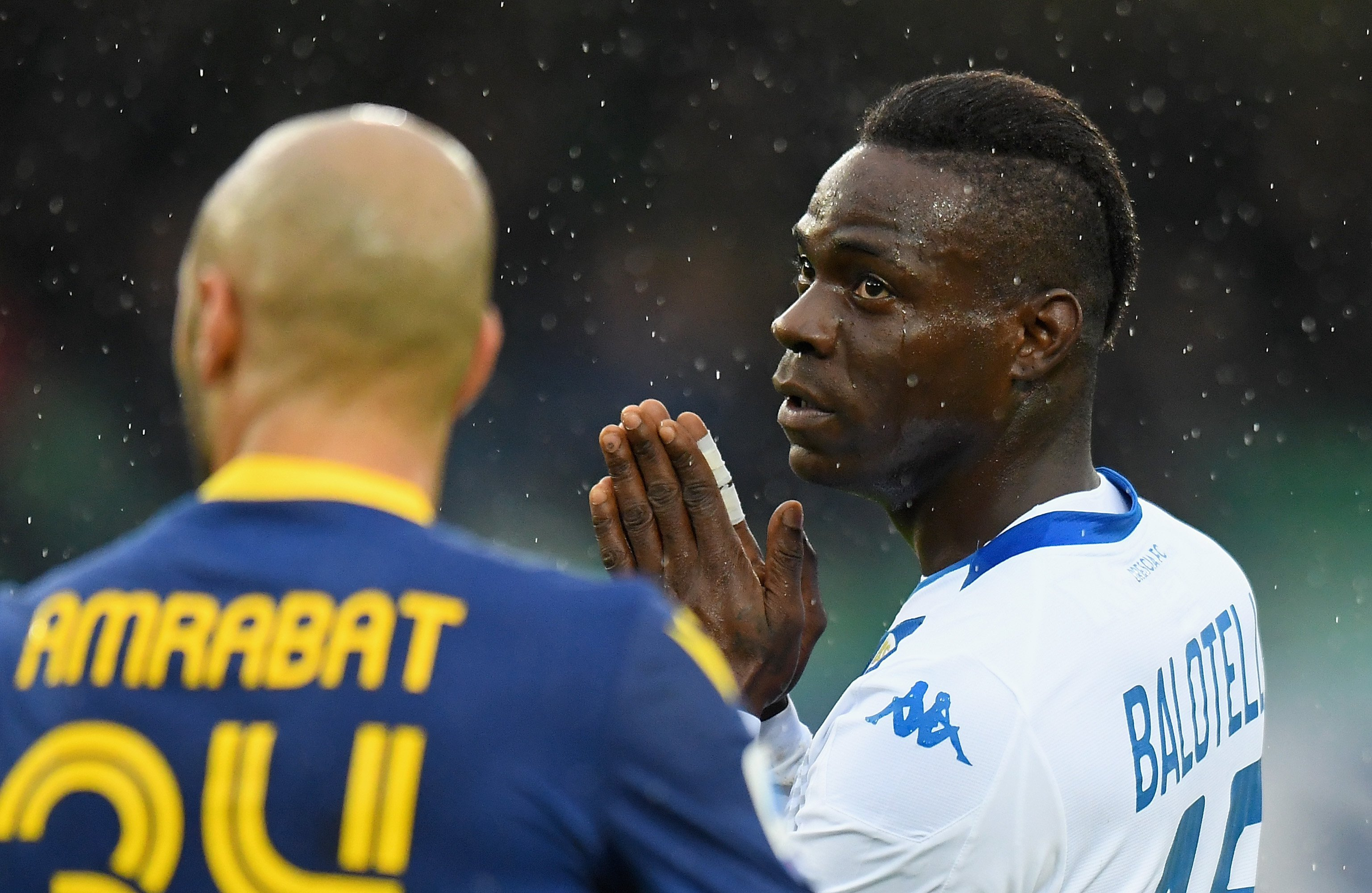 Brescia fans criticize Mario Balotelli after he was racially abused