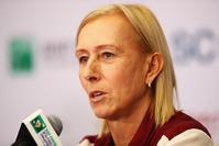 Martina Navratilova and John McEnroe 'sorry' for breaking protocol over Court protest