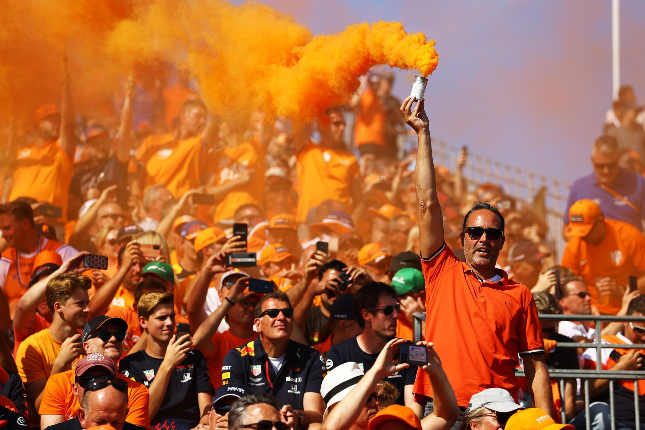Max Verstappen wins Dutch Grand Prix to the delight of home fans
