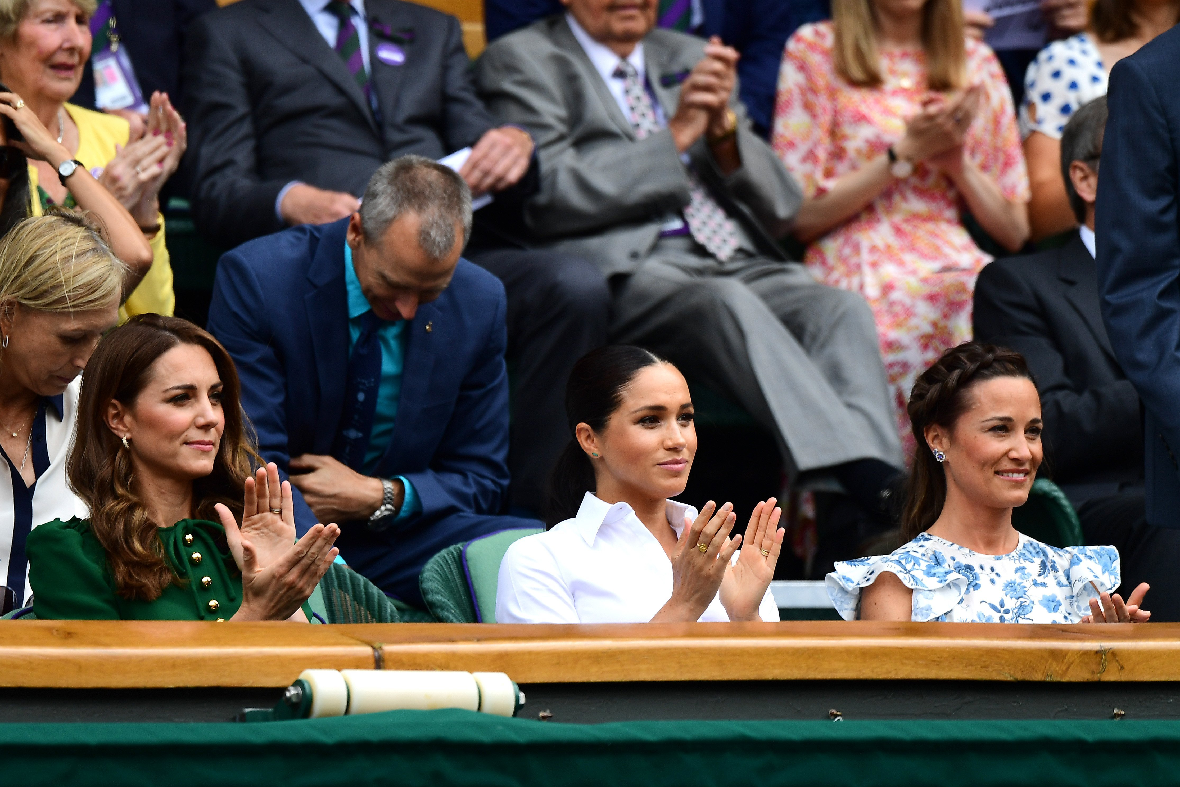 Duchesses Meghan and Catherine attend Wimbledon final