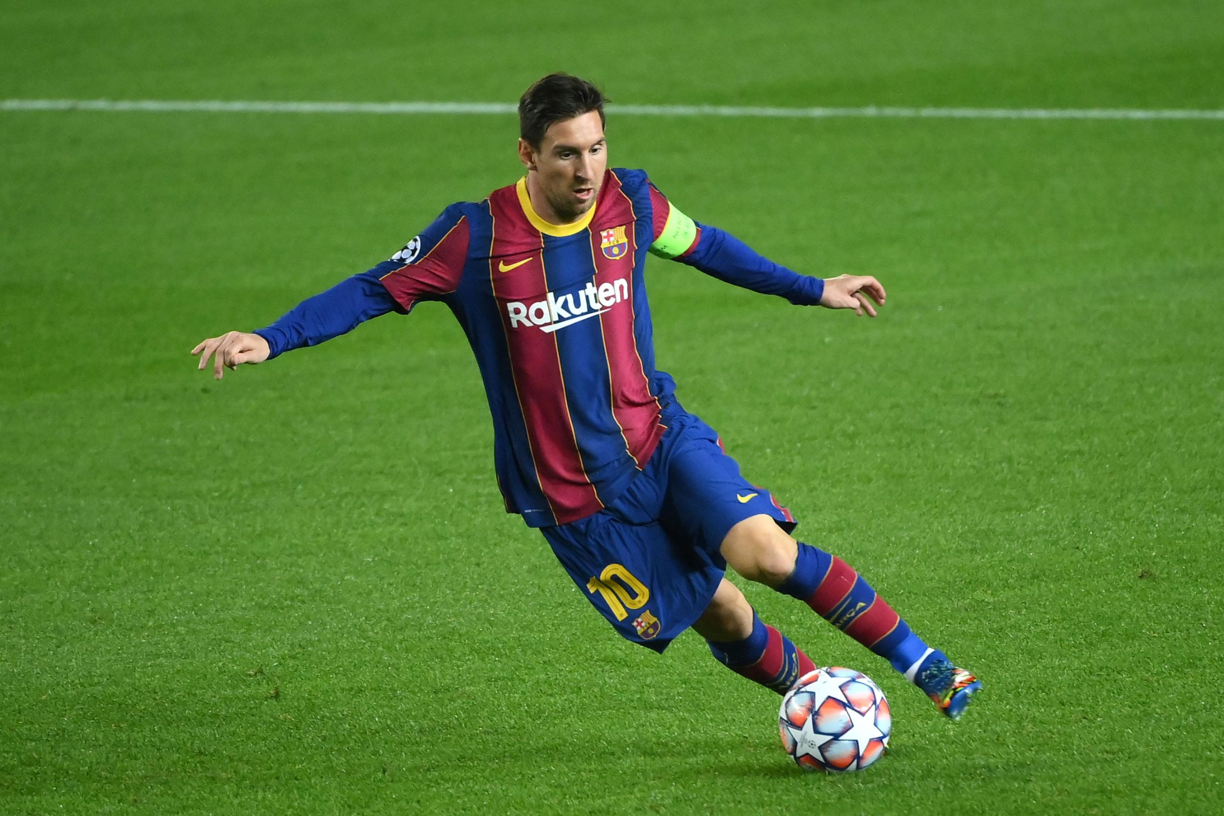 Lionel Messi breaks Champions League record as teenagers give Barcelona hope for the future