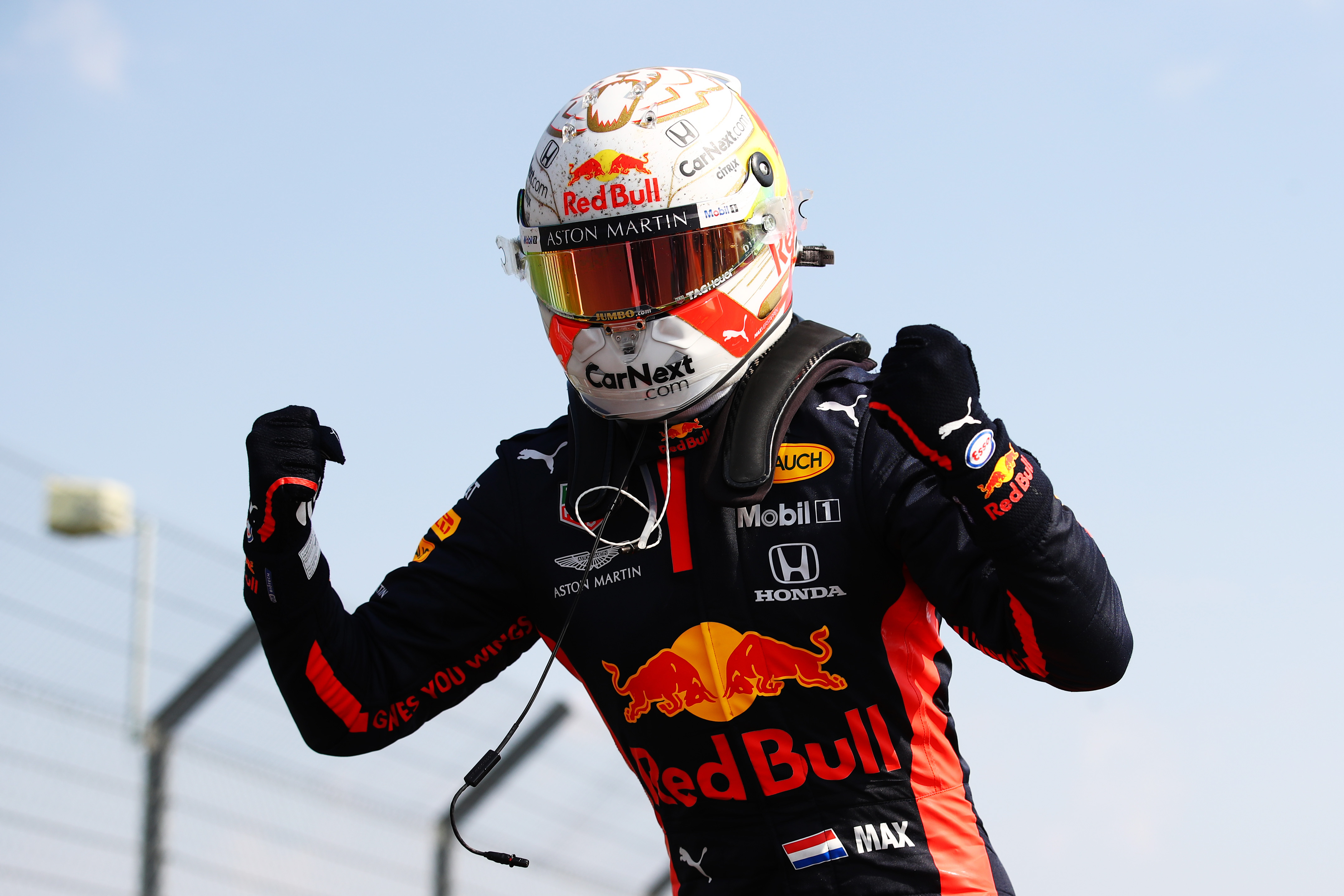 Verstappen outfoxes Mercedes duo to win 70th Anniversary Grand Prix