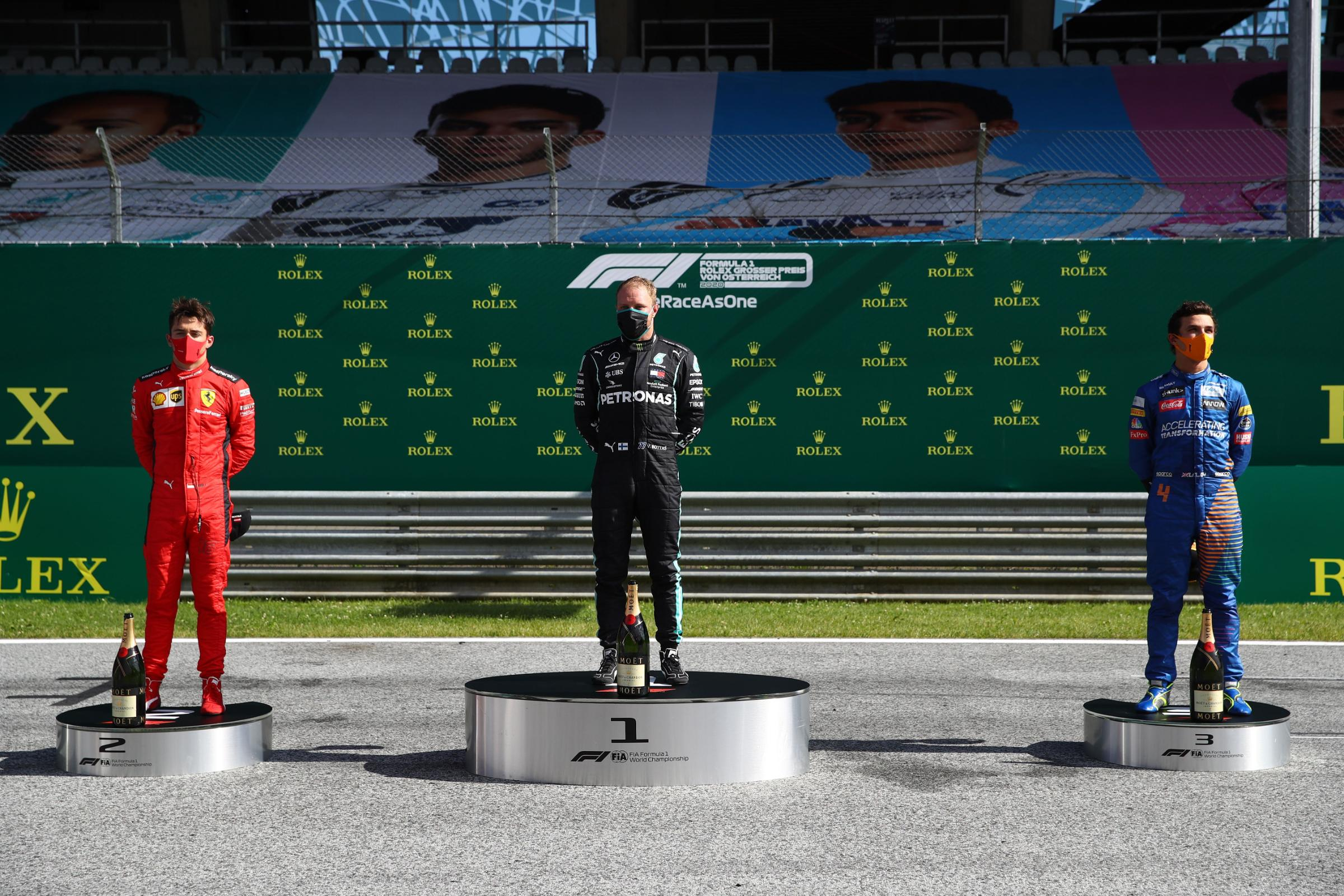 Formula One drivers divided as several choose not to kneel in support of Black Lives Matter movement