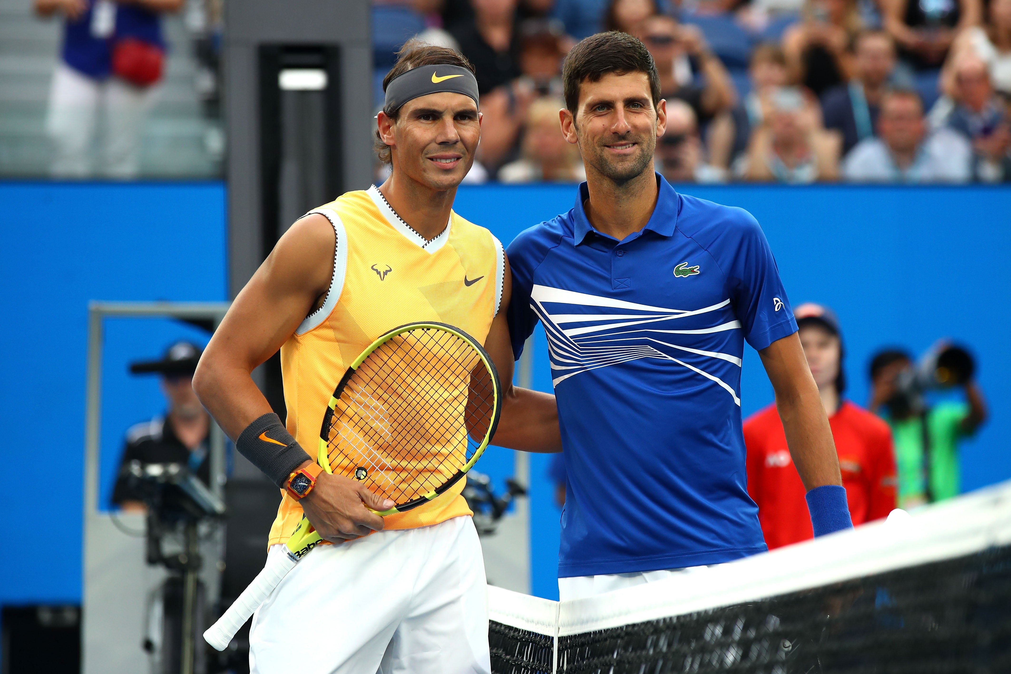 ATP Finals: Rafa Nadal and Novak Djokovic battle for No. 1 … but will Spaniard play?
