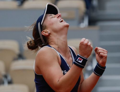 Image for Qualifier Nadia Podoroska makes history at the French Open after stunning Elina Svitolina