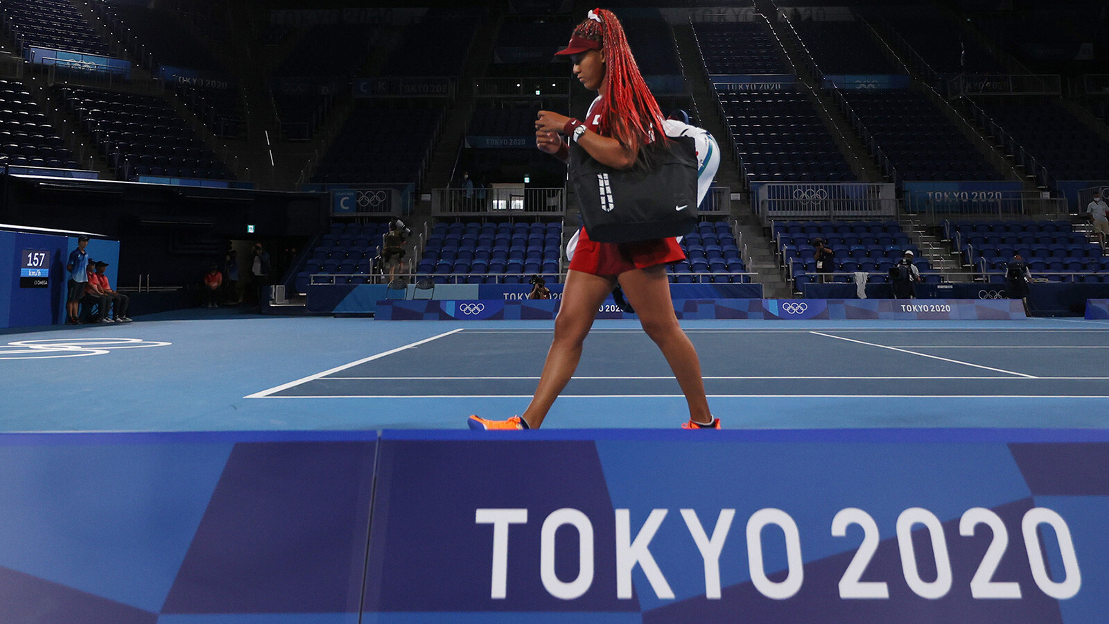 Naomi Osaka will leave Tokyo Olympics without a medal, loses in 3rd round to Marketa Vondrousova