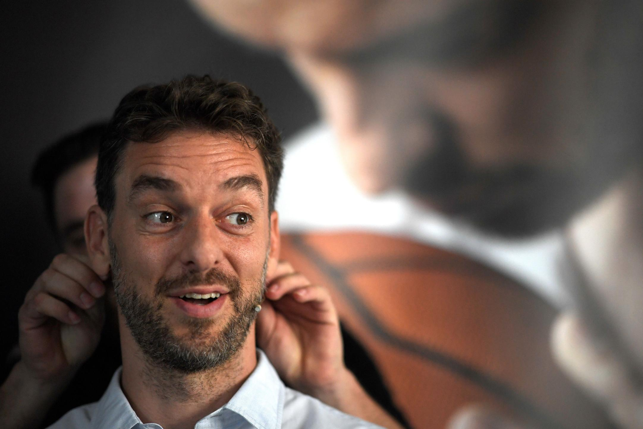 Former NBA star Pau Gasol is determined to help others after retiring from the game