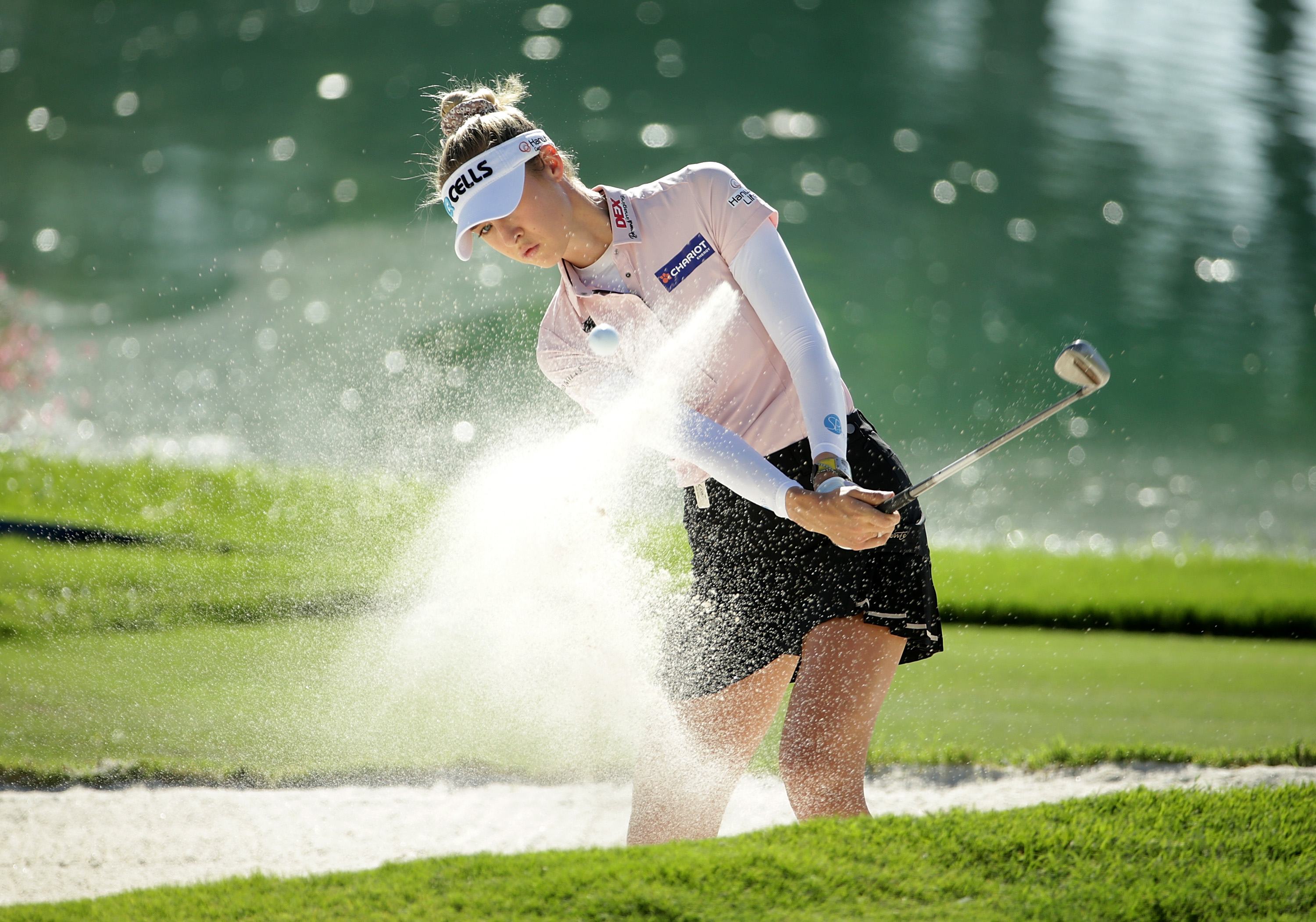 Nelly Korda takes ANA Inspiration lead as temperatures soar in California