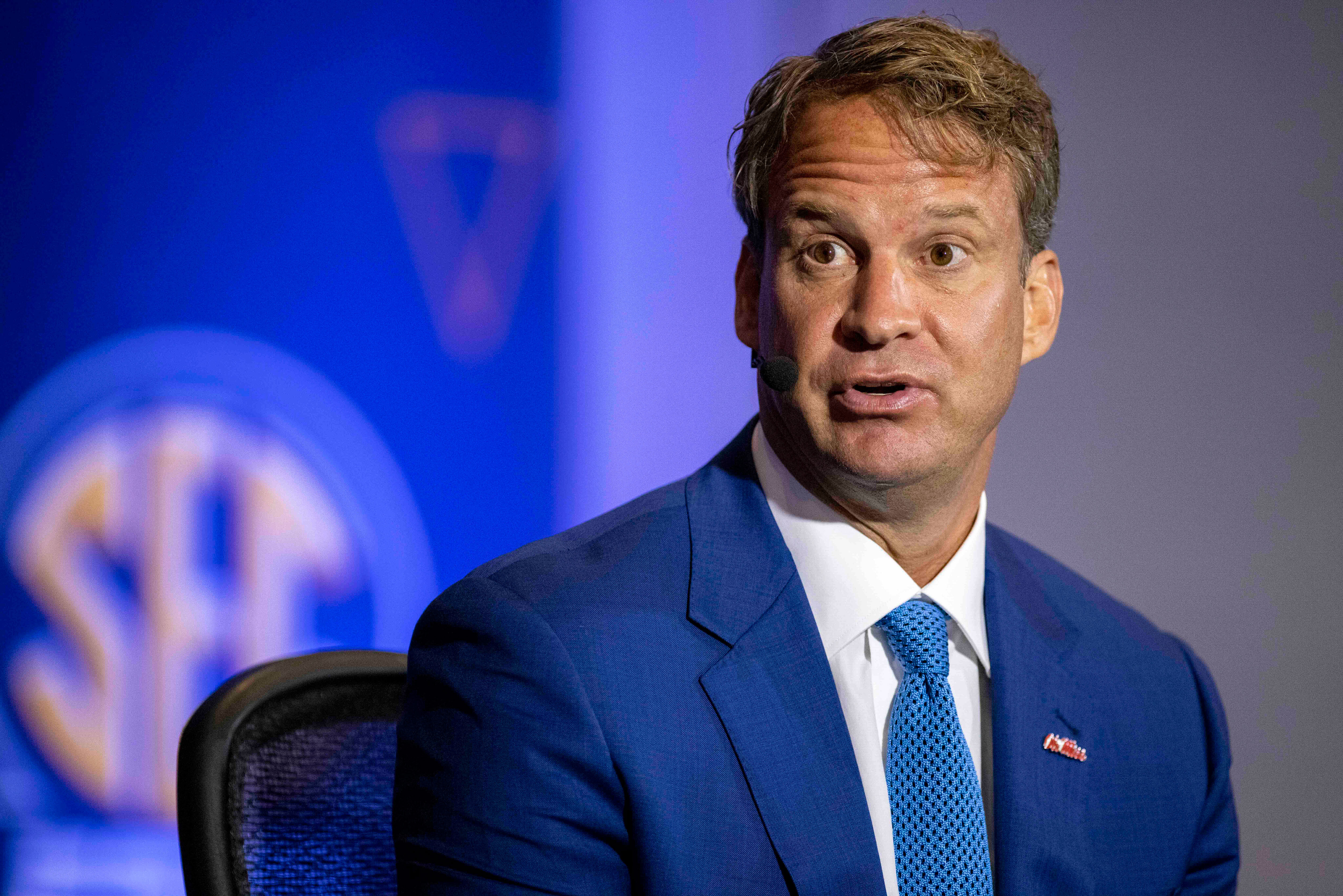 Ole Miss football coach Lane Kiffin to miss game after breakthrough Covid-19 diagnosis