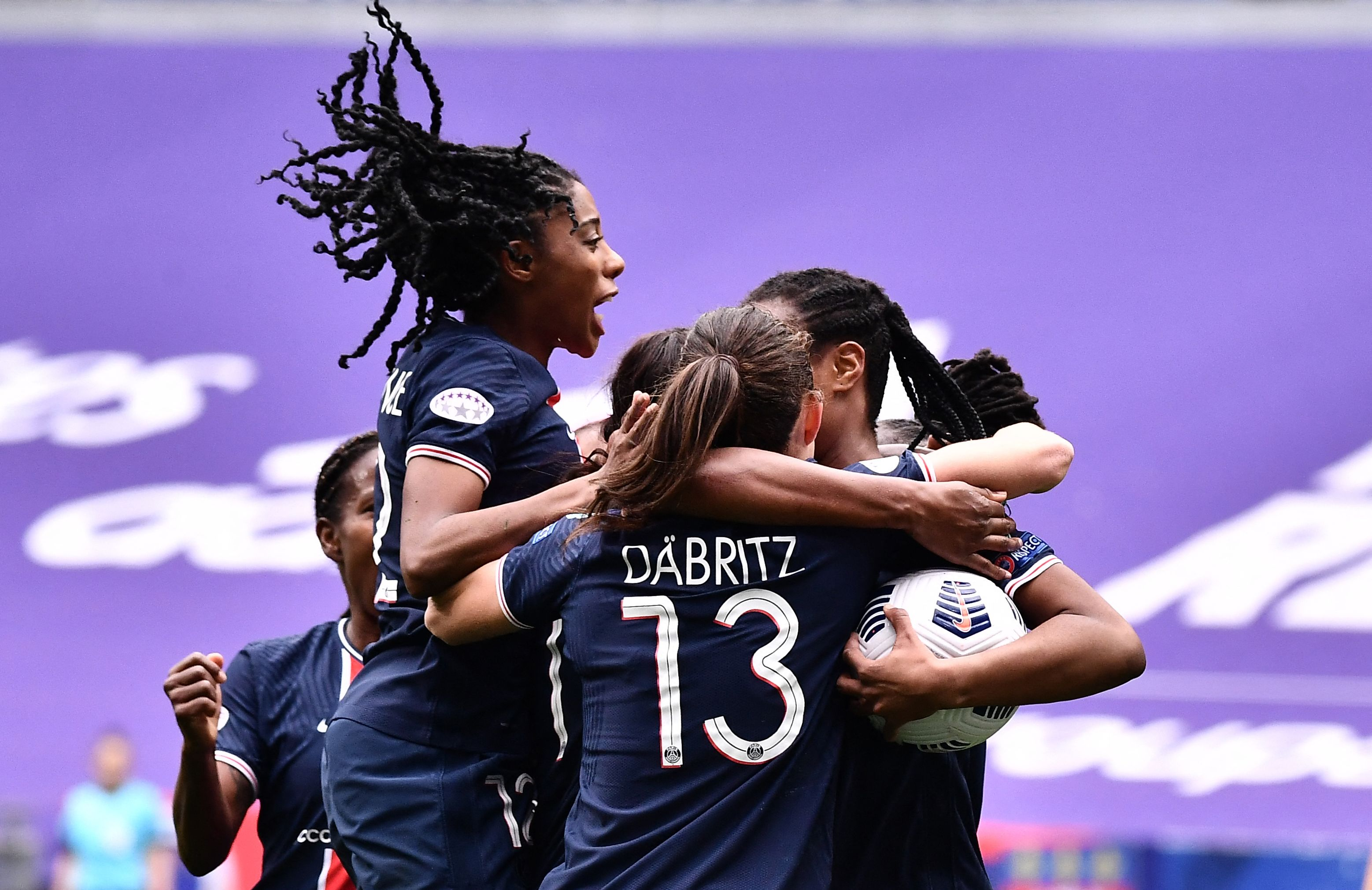 Paris Saint-Germain ends Lyon's stranglehold on Women's Champions League