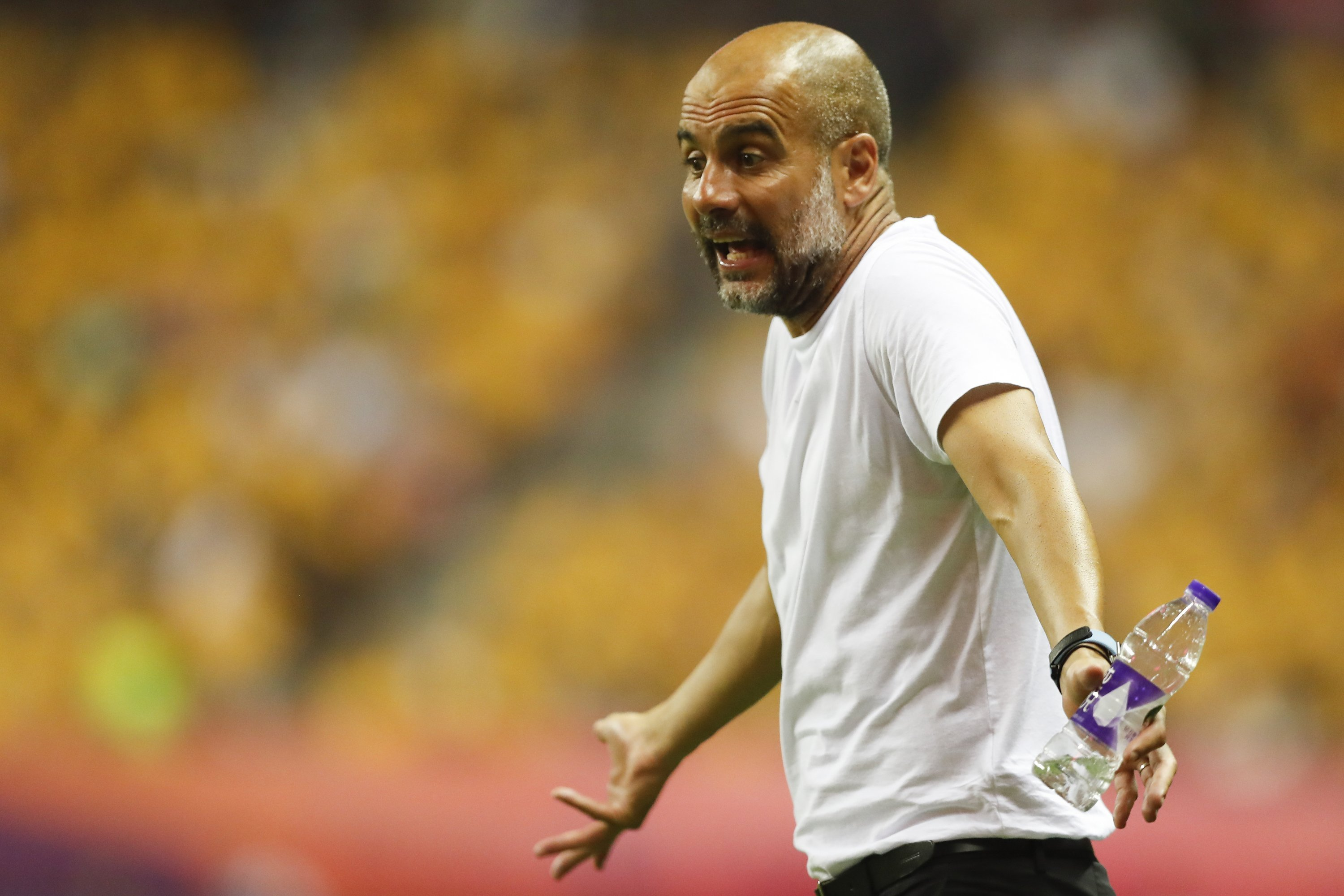 Pep Guardiola hits back at claims Man City showed 'utter disrespect' in China
