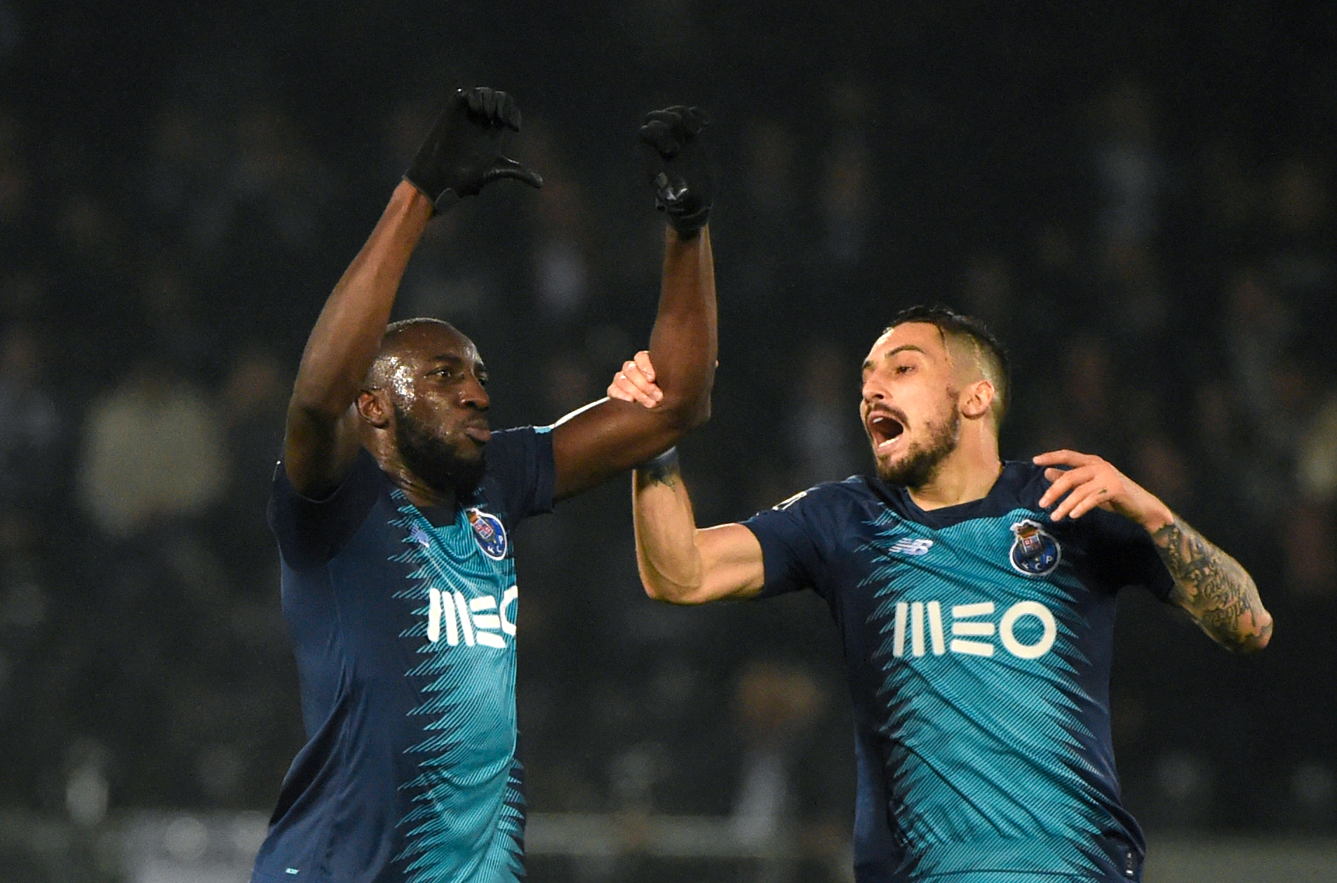 Porto forward Moussa Marega walks off pitch after suffering racist abuse