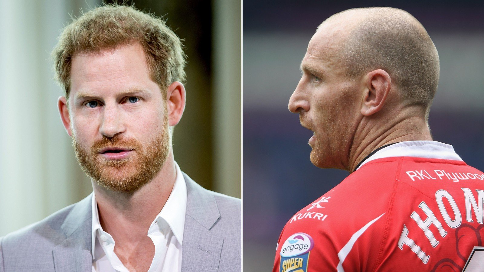 Prince Harry praises gay rugby star forced to disclose HIV status