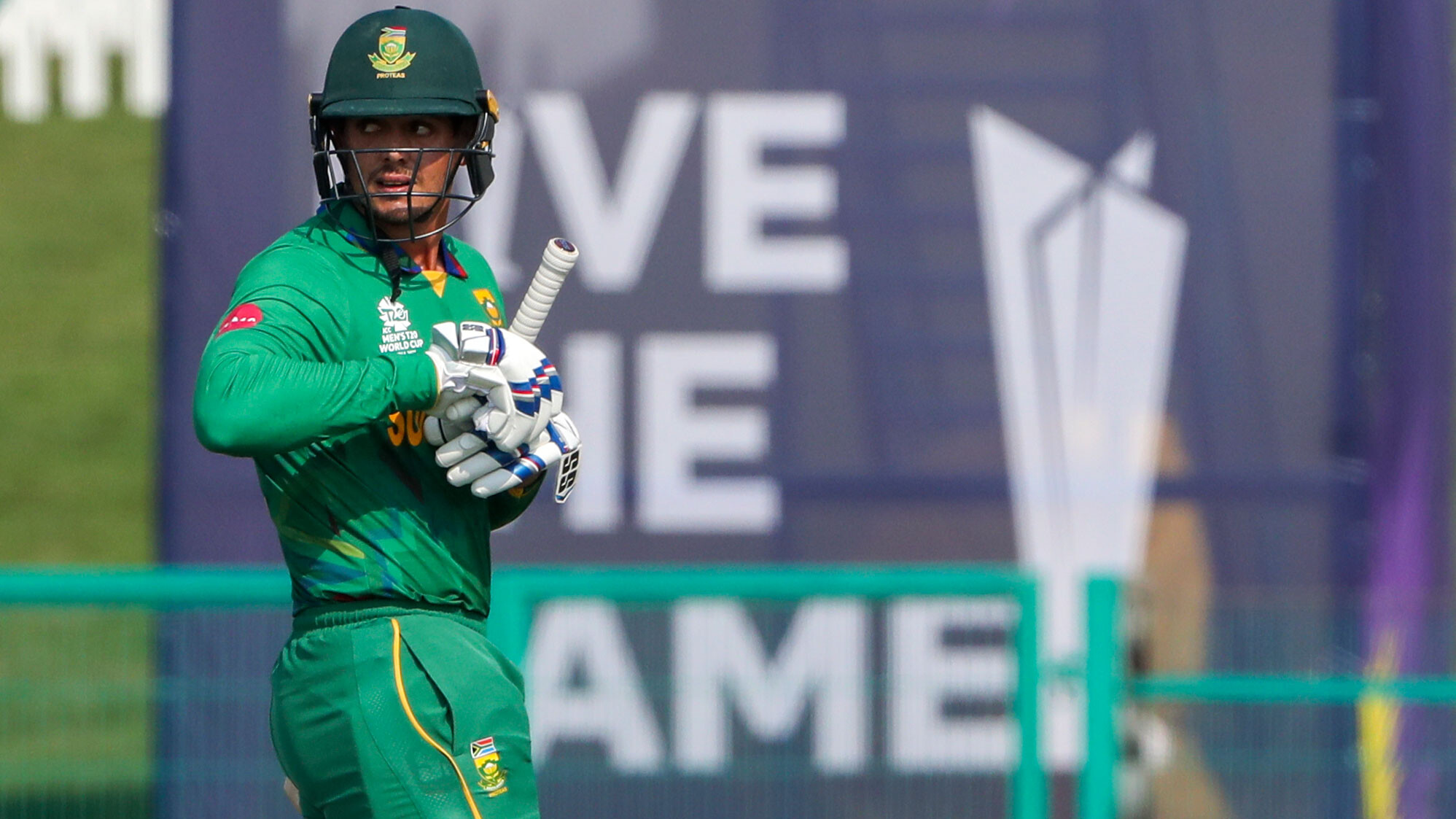 South African cricketer Quinton de Kock declines to take a knee at the T20 World Cup, despite call to 'stand against racism'