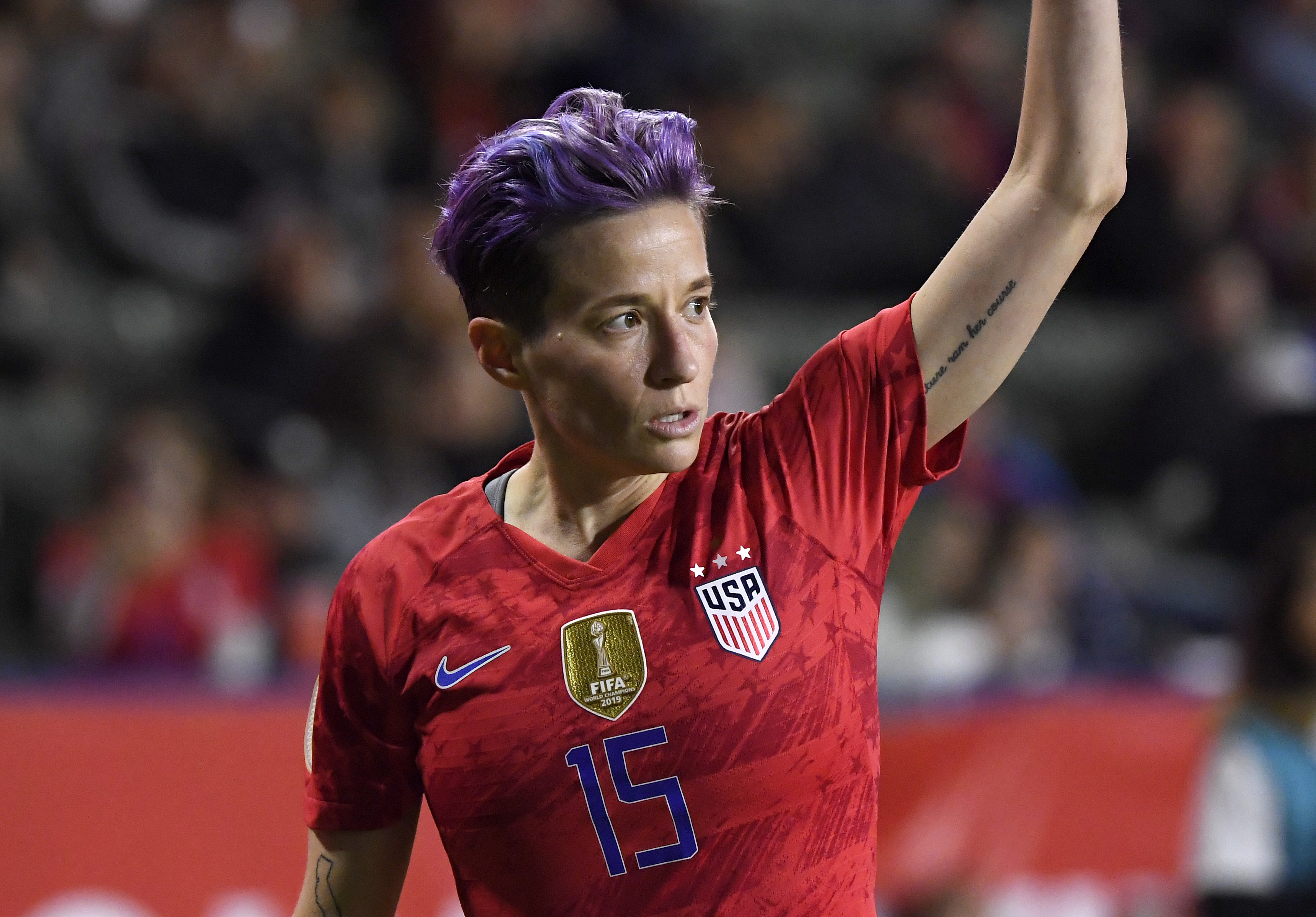 Megan Rapinoe condemns US Capitol rioters as 'White supremacy mob'