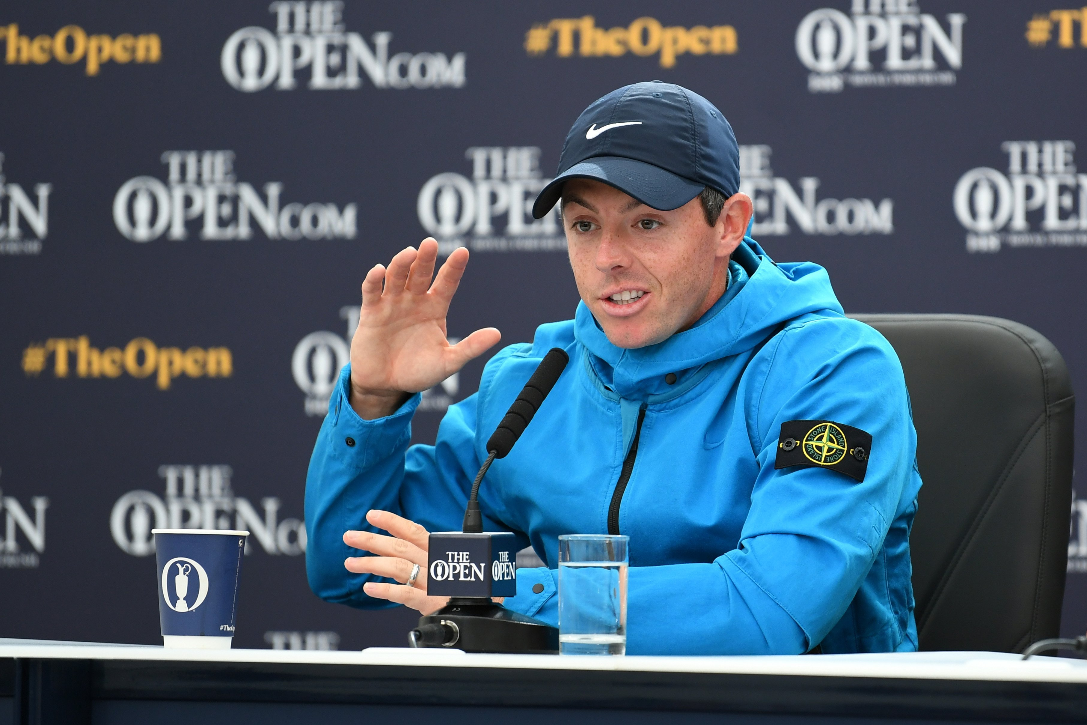 Rory McIlroy: Golf's 'Mozart' keen to 'smell the roses' in historic Open