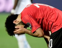 Mohamed Salah is 'happy at Liverpool'; less so with the Egyptian FA