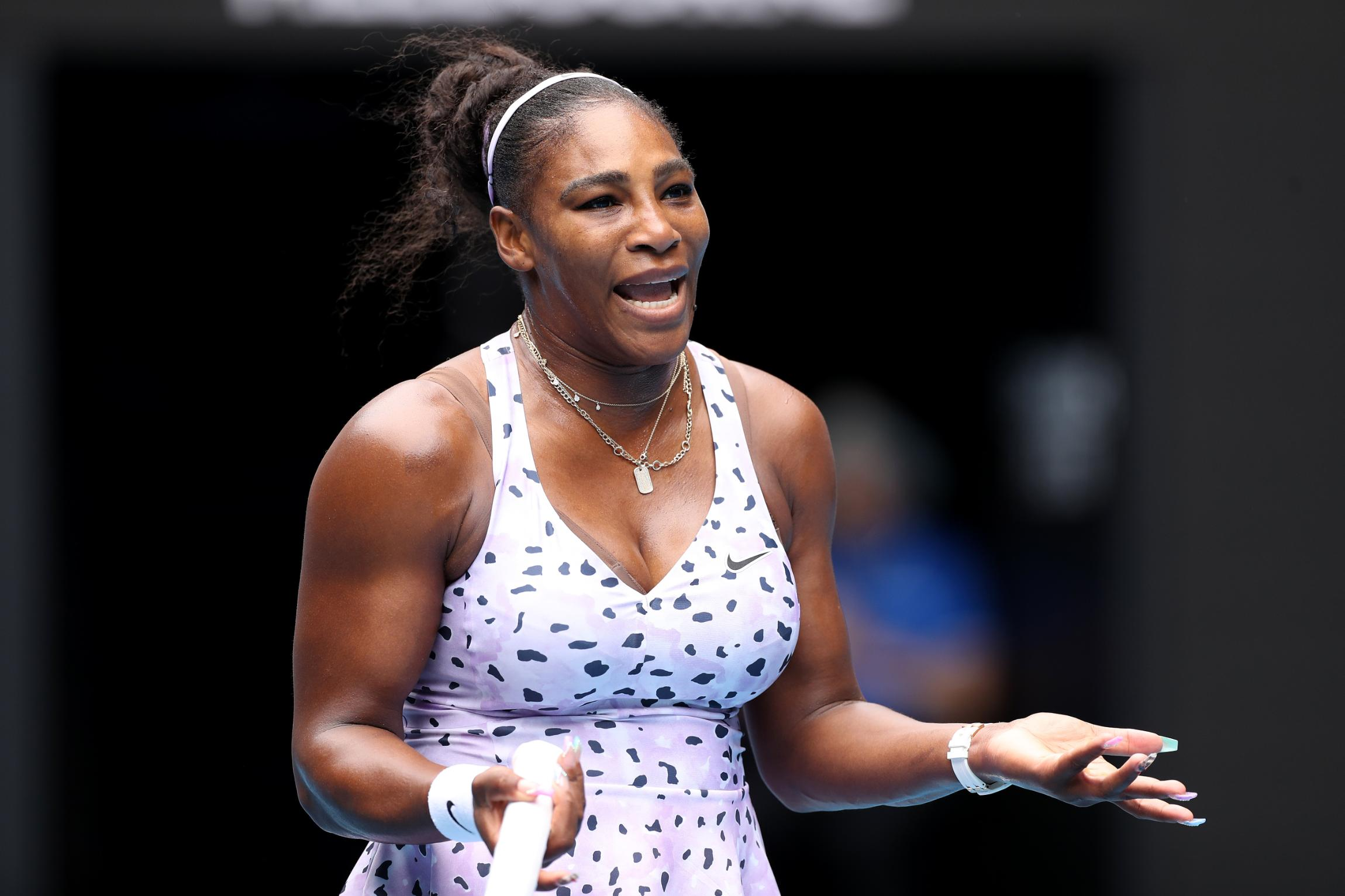 Serena Williams quizzed on Meghan Markle, credits reporter with 'good try'
