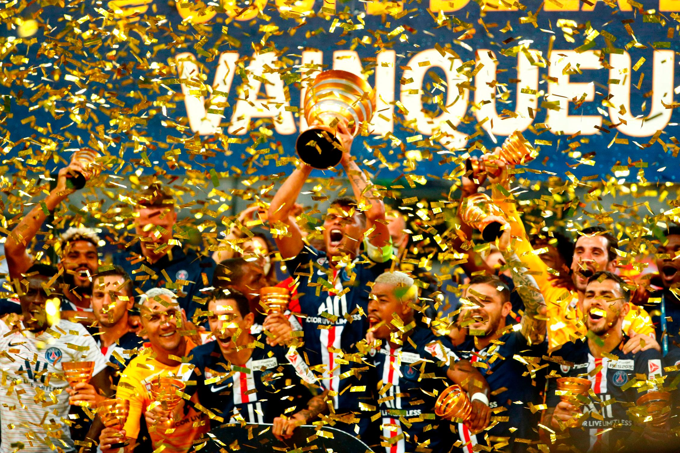 PSG completes domestic treble after French League Cup final victory against Lyon