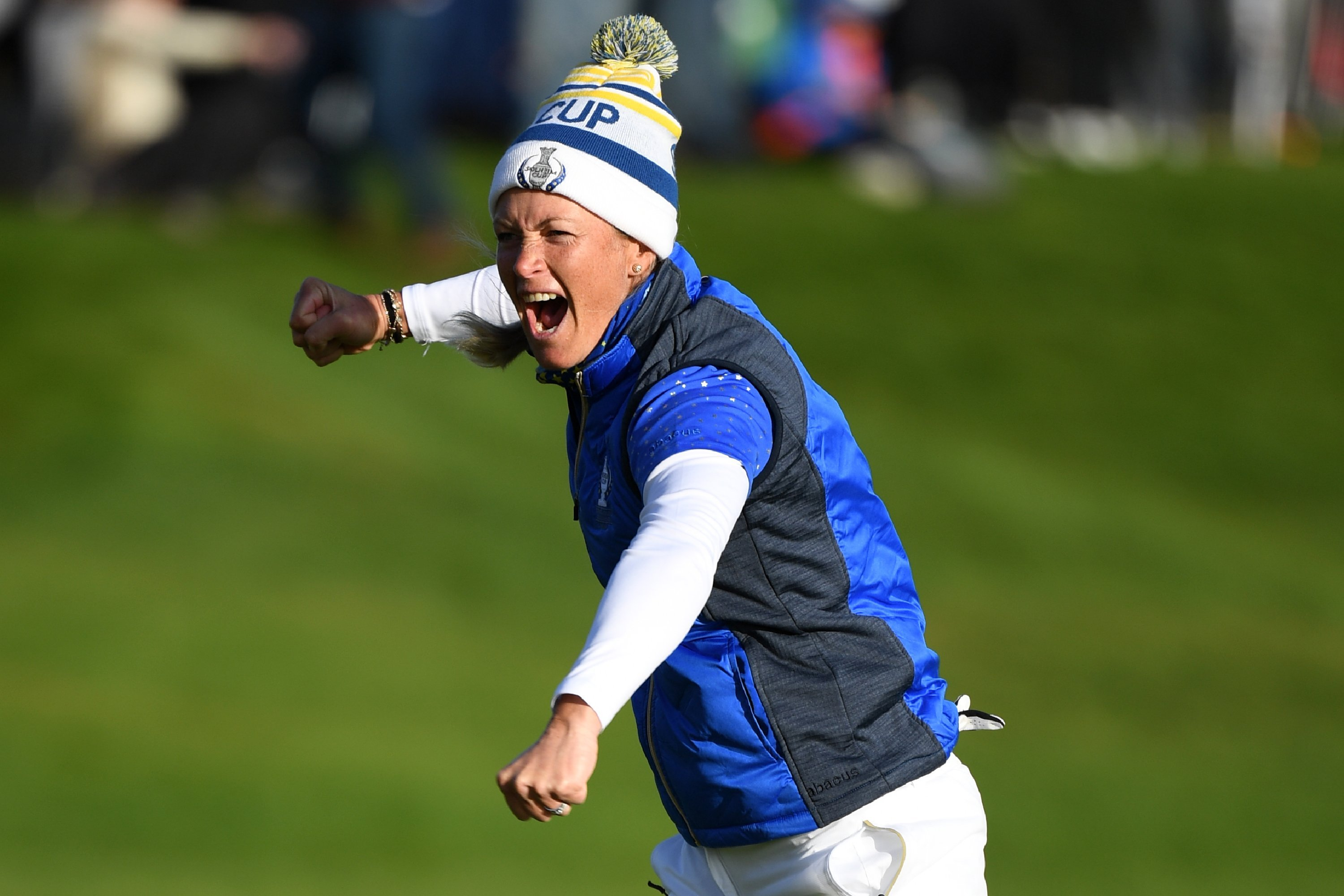 Solheim Cup: Europe defeats USA in thrilling finish at Gleneagles