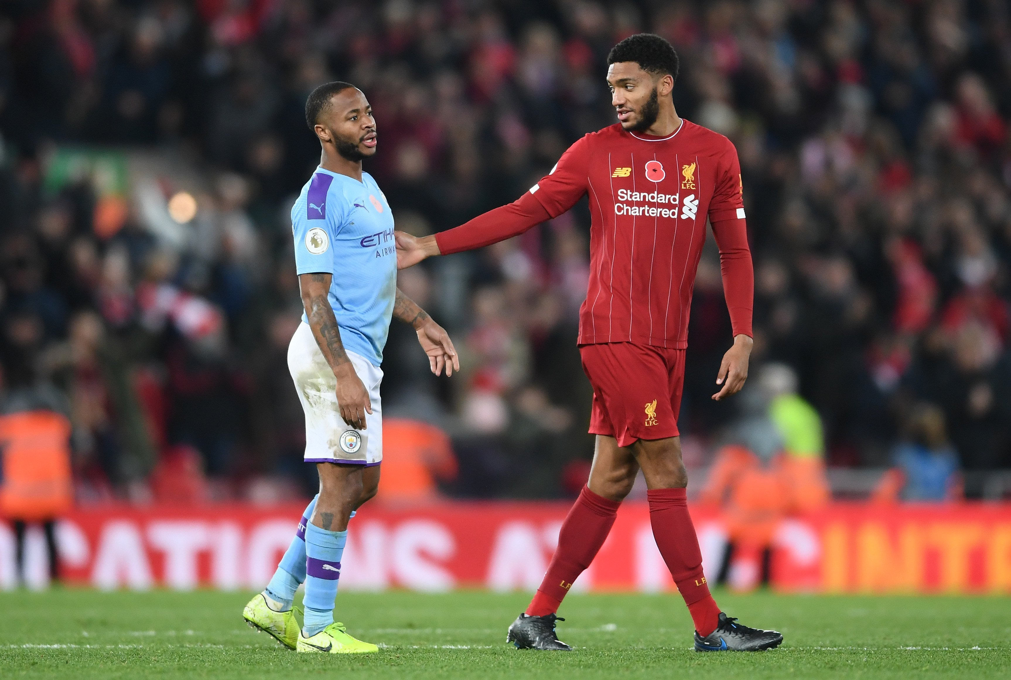 Raheem Sterling dropped by England after altercation with teammate Joe Gomez