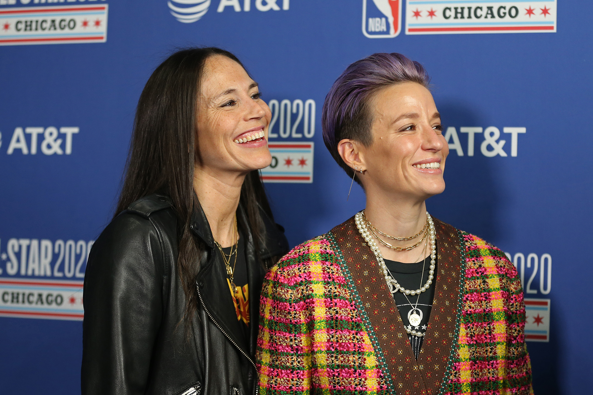 Sue Bird posts photo with Megan Rapinoe down on one knee presenting her a ring