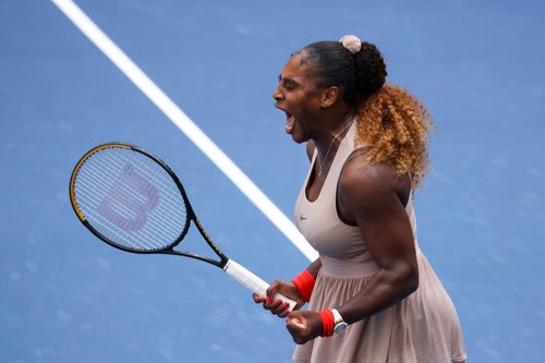 Image for Another comeback win for Serena Williams at the US Open as three moms reach quarterfinals for first time