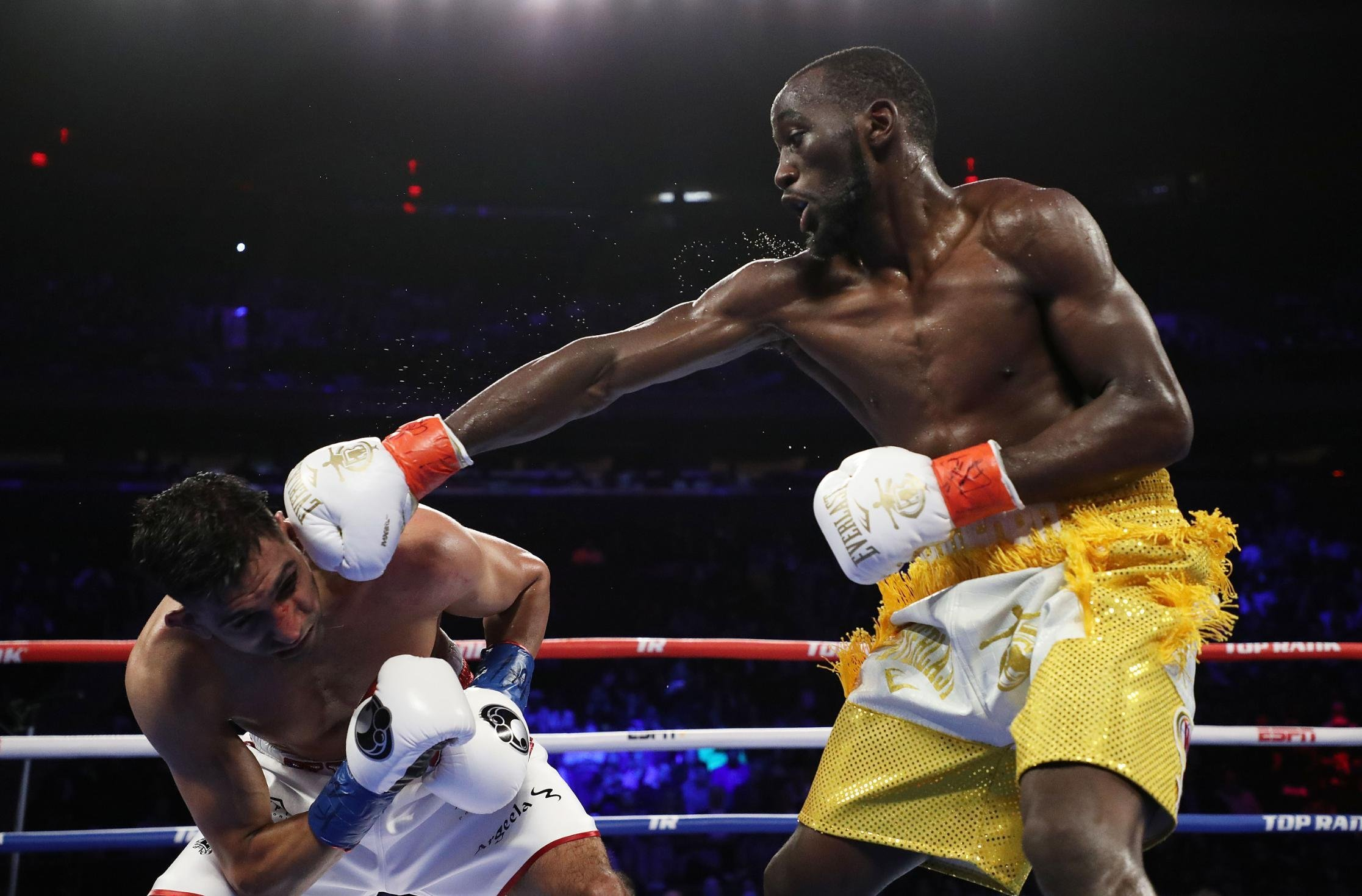 Hit by a bullet, boxer Terence Crawford vowed to change his life