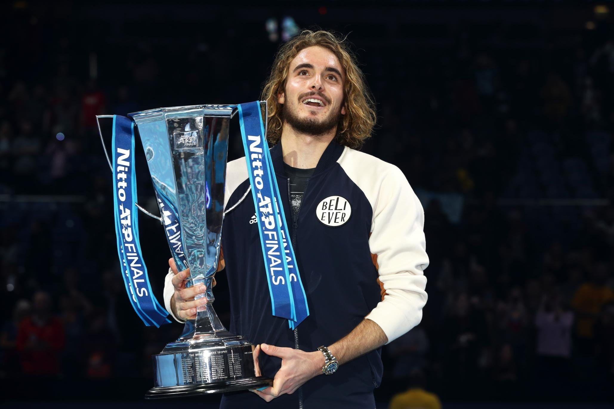 Tsitsipas rallies past Thiem to become youngest debut ATP FInals winner in 41 years