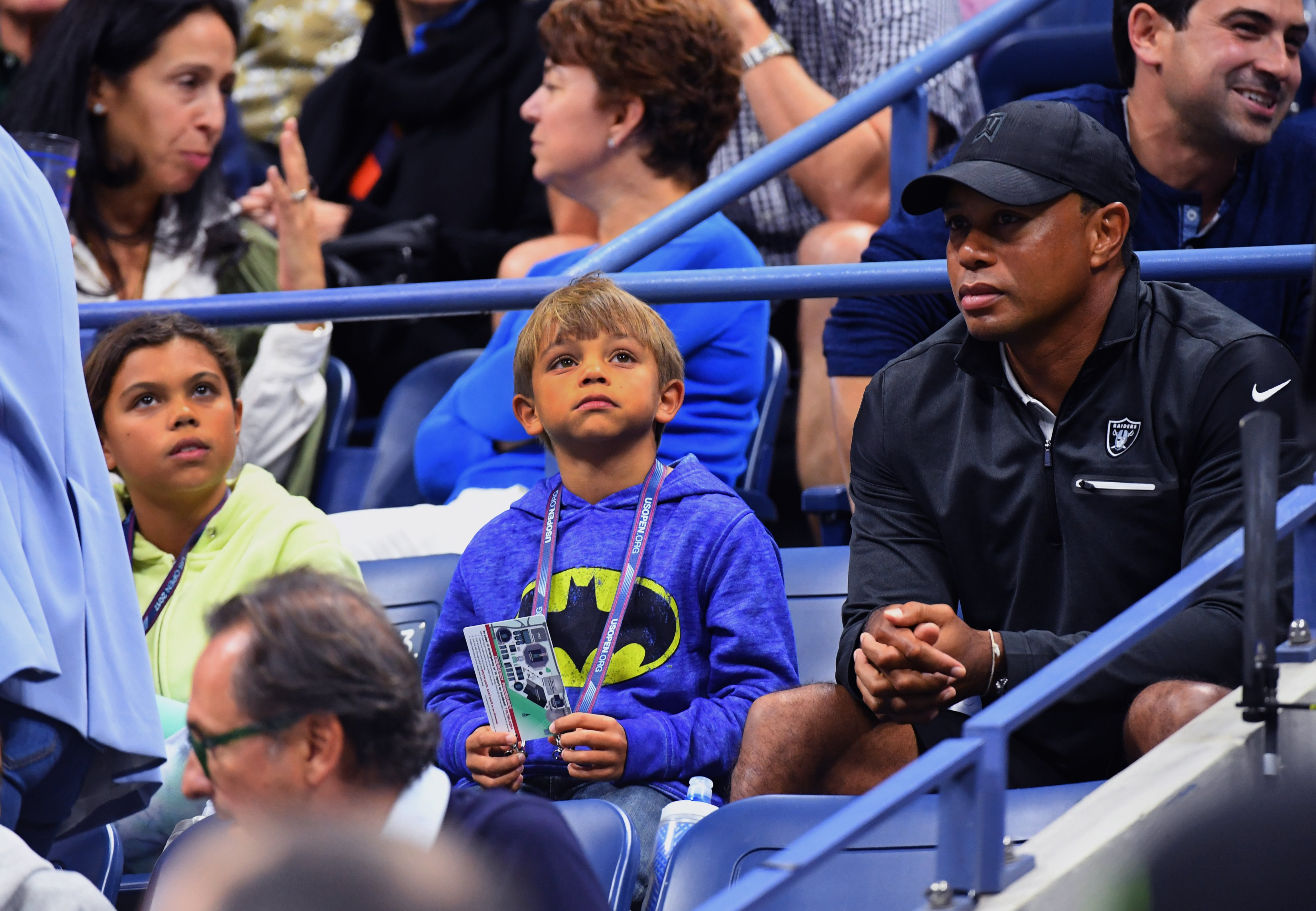 Tiger Woods and son Charlie to compete together at next month's PNC Championship