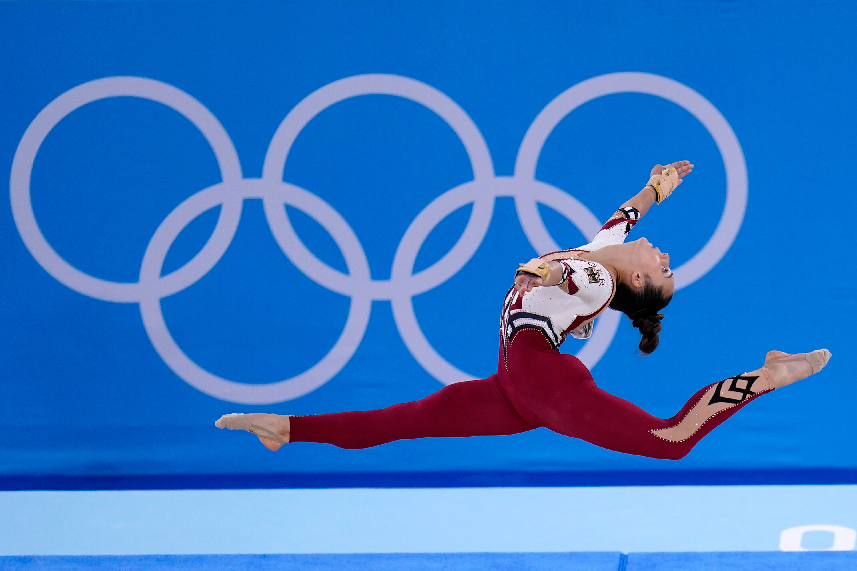 Germany's gymnasts wear body-covering unitards, rejecting 'sexualization' of sport