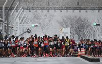 Tokyo Marathon restricted to elite athletes over coronavirus fears