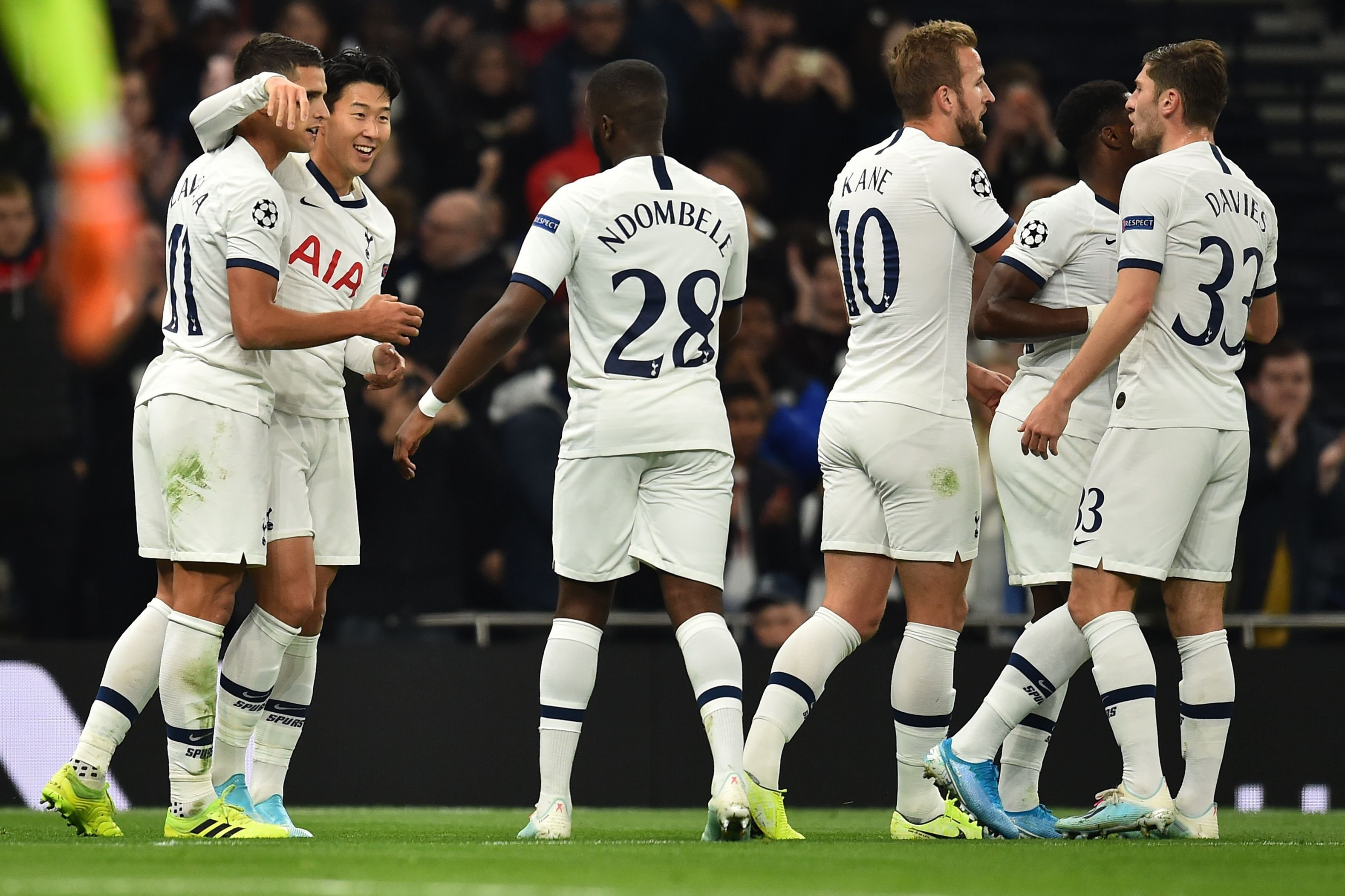 Five-star Tottenham lifts the gloom in north London with hammering of Red Star