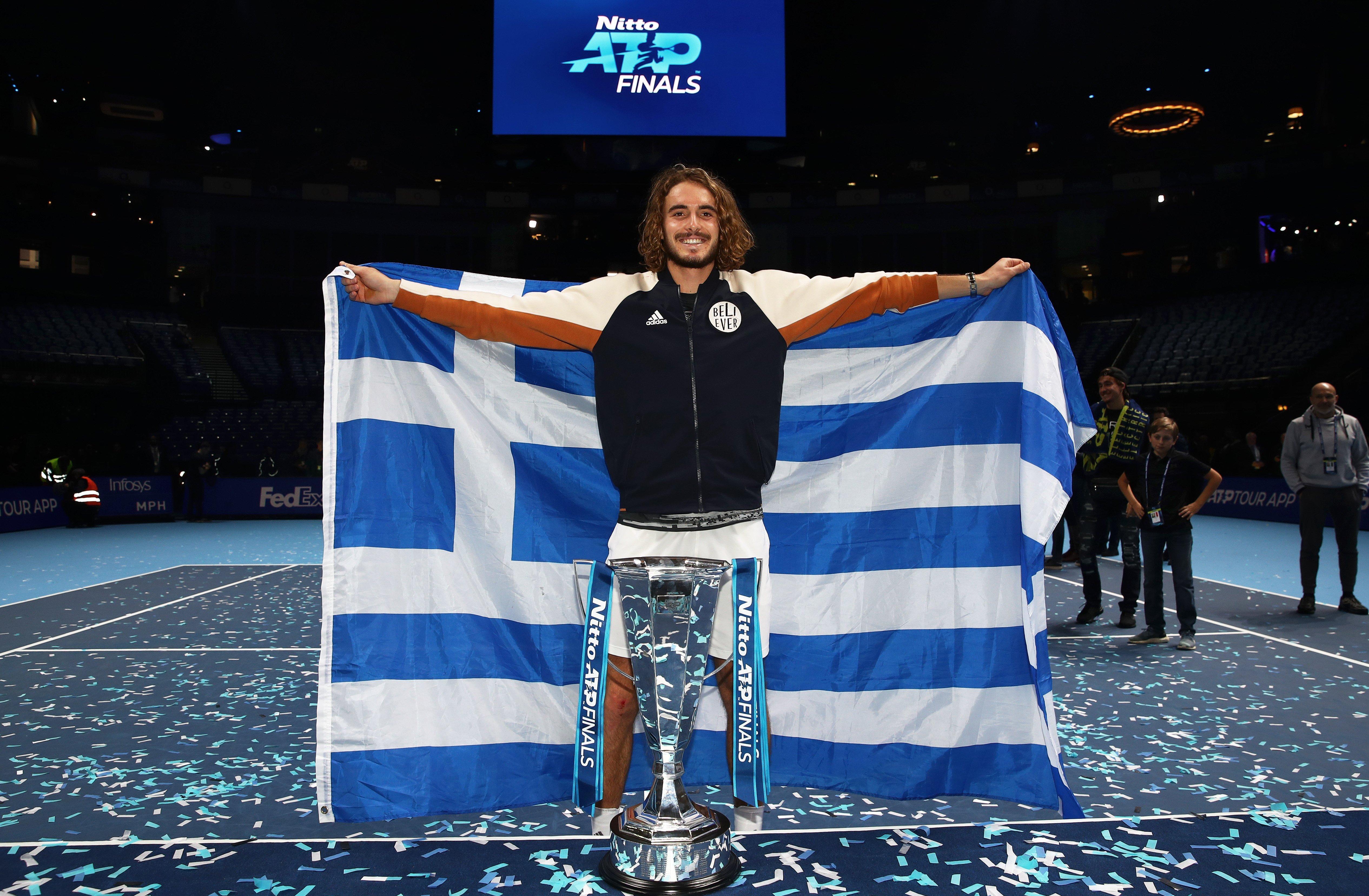 Stefanos Tsitsipas: Greek sensation prepared to overcome 'pain' to break Big Three's dominance