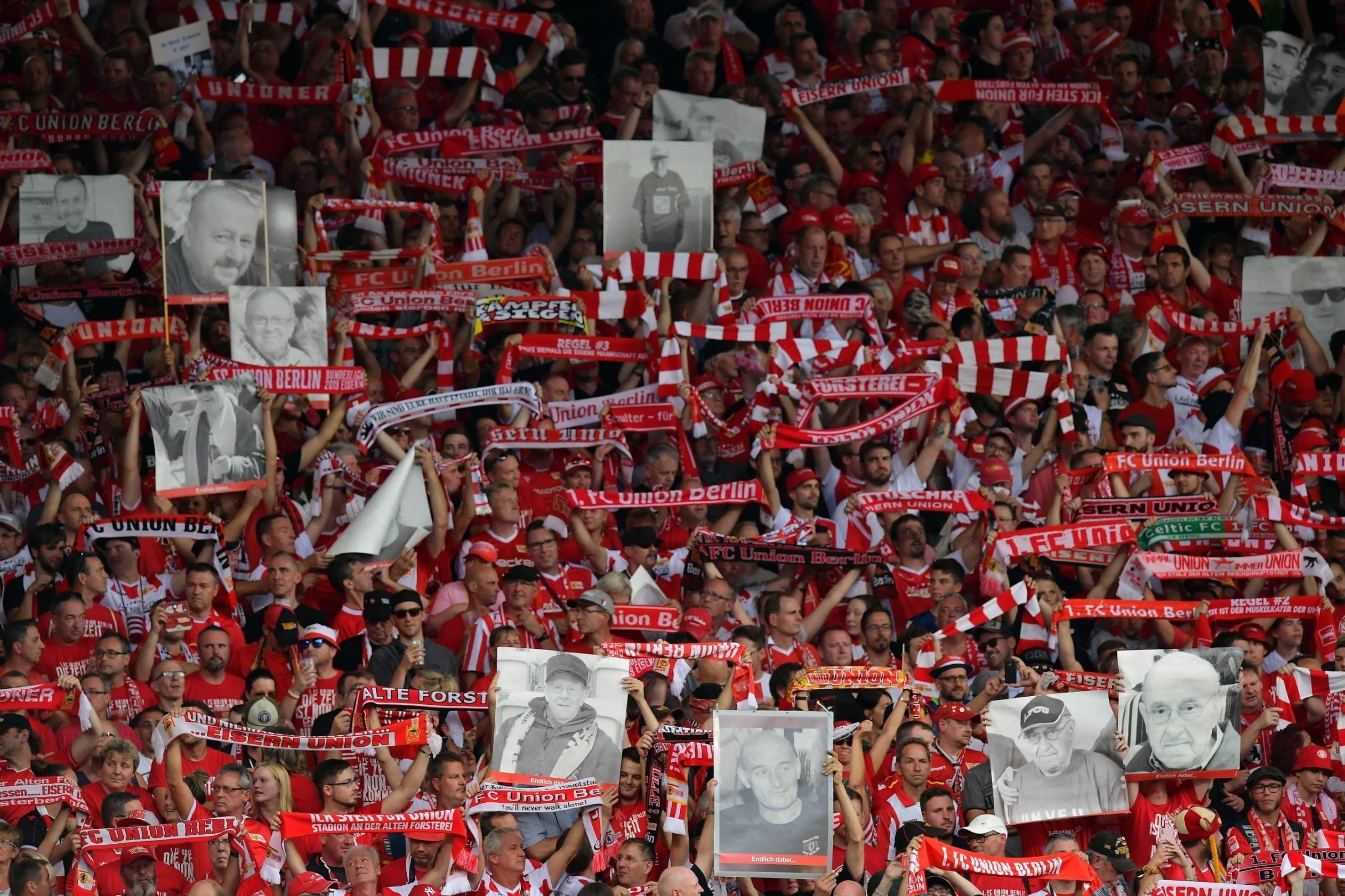 Gone but not forgotten: Union Berlin remembers deceased fans in moving tribute