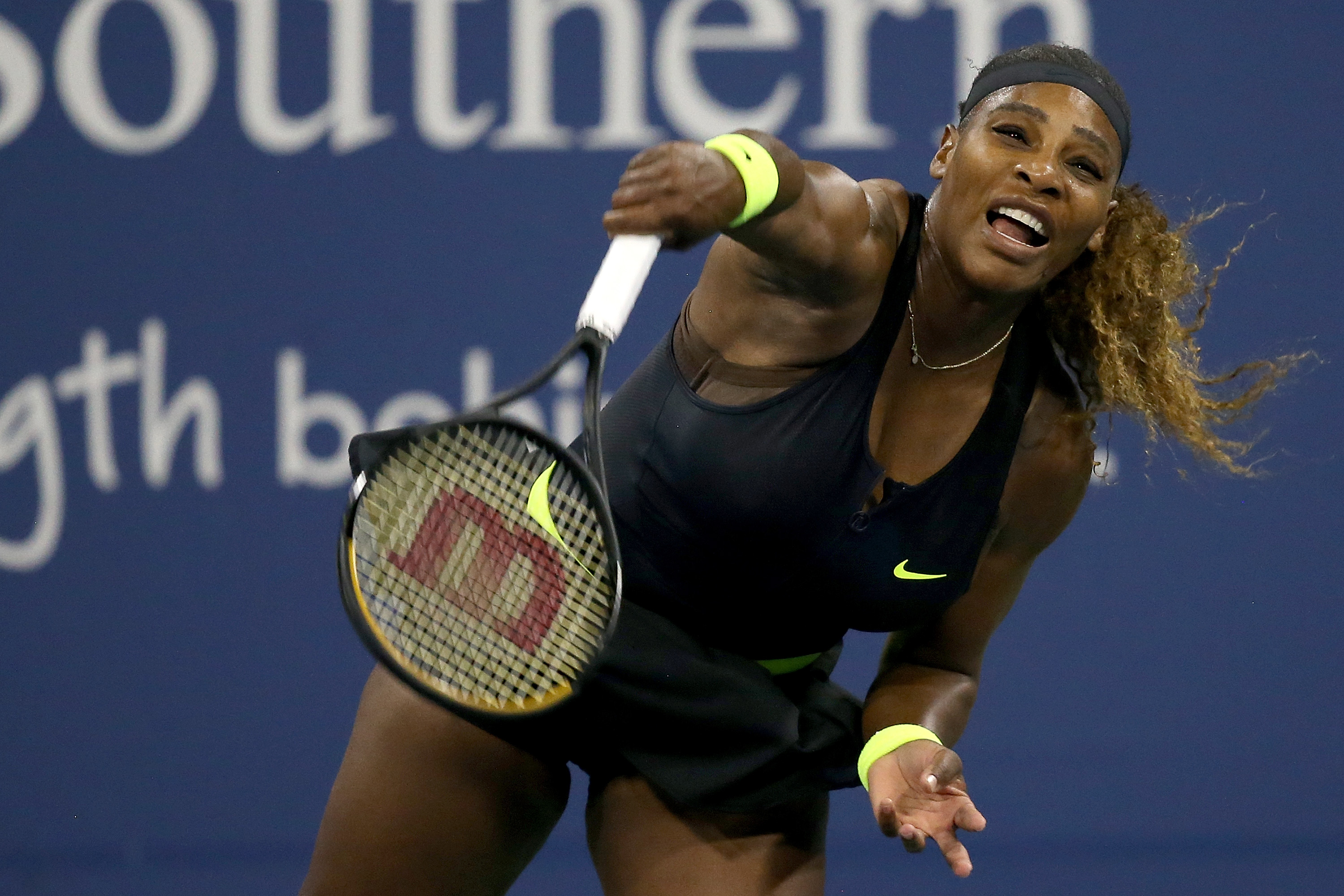'It's like dating a guy that you know sucks,' says Serena Williams after loss