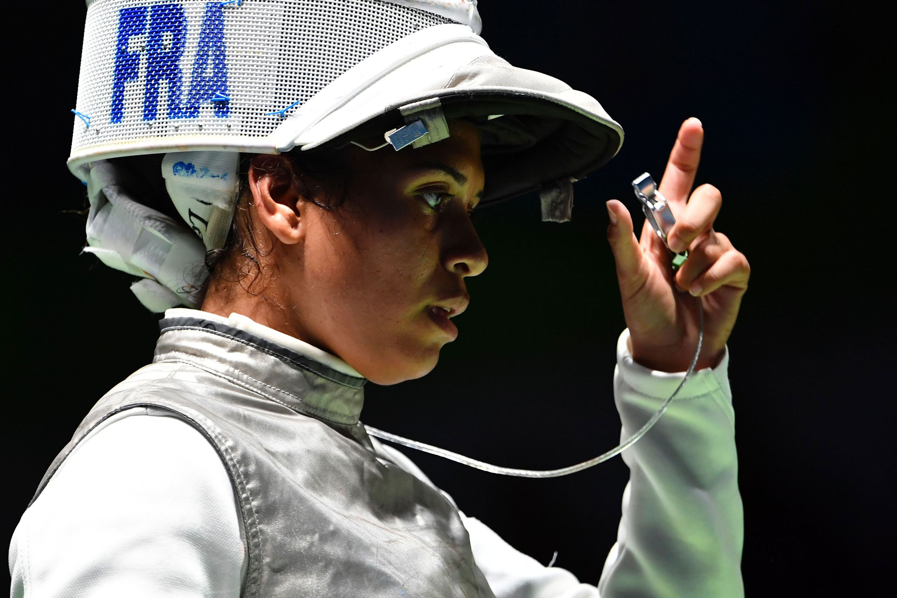 Olympic fencer Ysaora Thibus: 'I'm an athlete, but first I'm a woman, I'm a Black woman'
