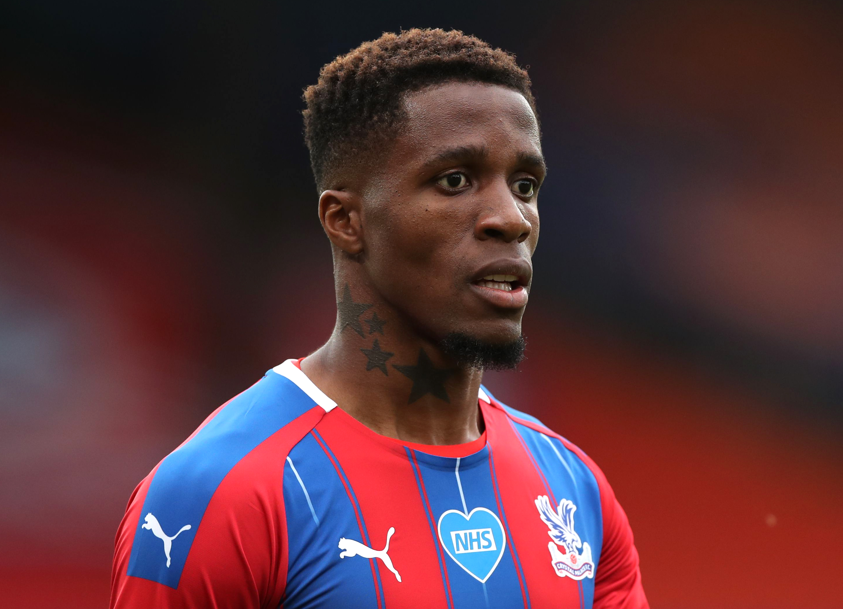 Premier League star Zaha racially abused on social media