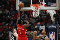 Zion Williamson stuns for New Orleans Pelicans in record-breaking NBA debut
