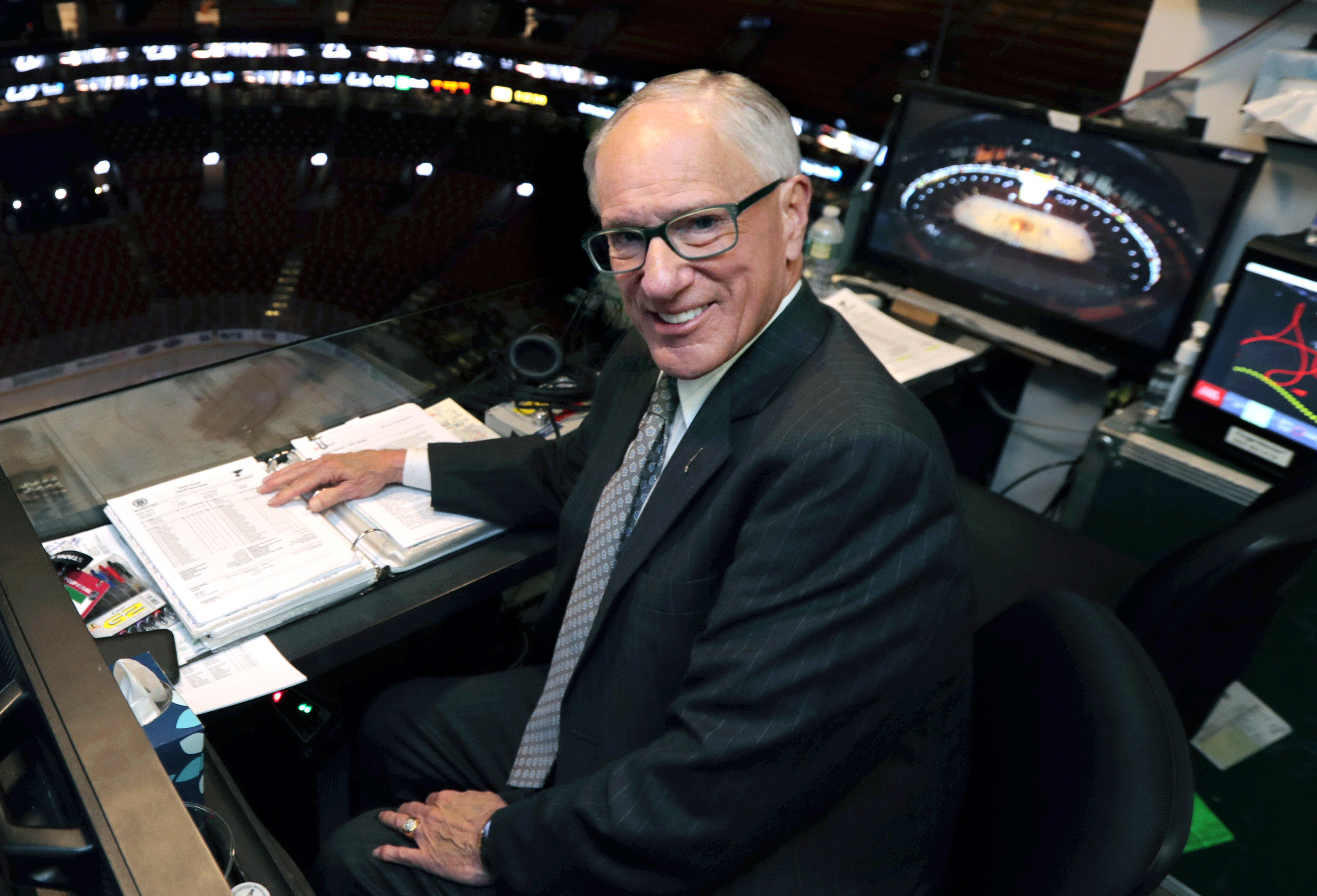Legendary NHL broadcaster Mike 'Doc' Emrick announces his retirement
