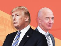 Trump vows 'strong look' at Pentagon contract that could go to his frequent target, Amazon