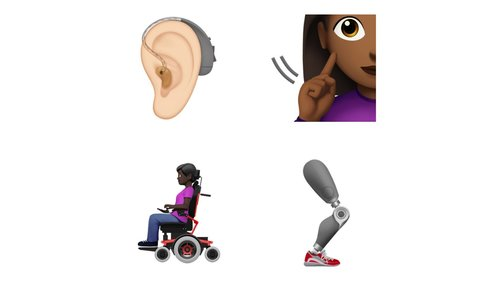 Image for Apple unveils disability-themed emojis in push for greater diversity