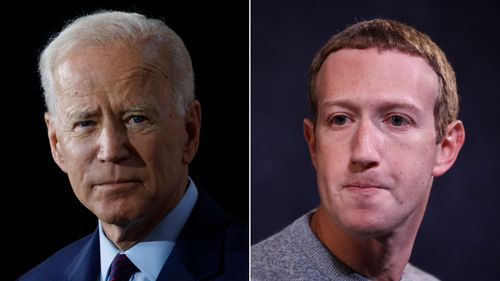 Image for Biden campaign blames Facebook for $500,000 in lost fundraising