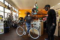 'The new toilet paper:' Bikes are flying off shelves, overwhelming shops