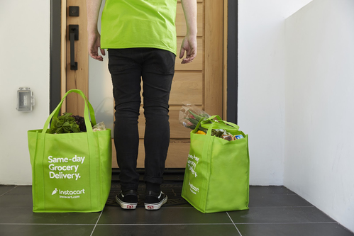Image for Instacart plans to hire 300,000 more workers as demand surges for grocery deliveries