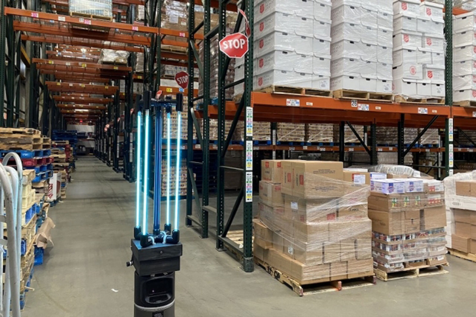 MIT-designed robot can disinfect a warehouse floor in 30 minutes — and could one day be employed in grocery stores and schools