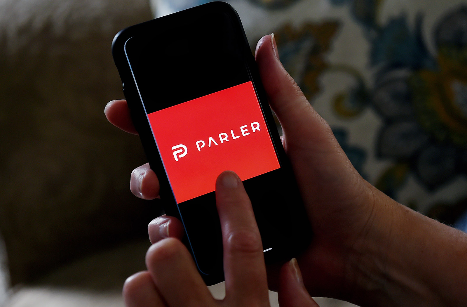 Parler's website shows signs of life with a brief message to 'lovers and haters'